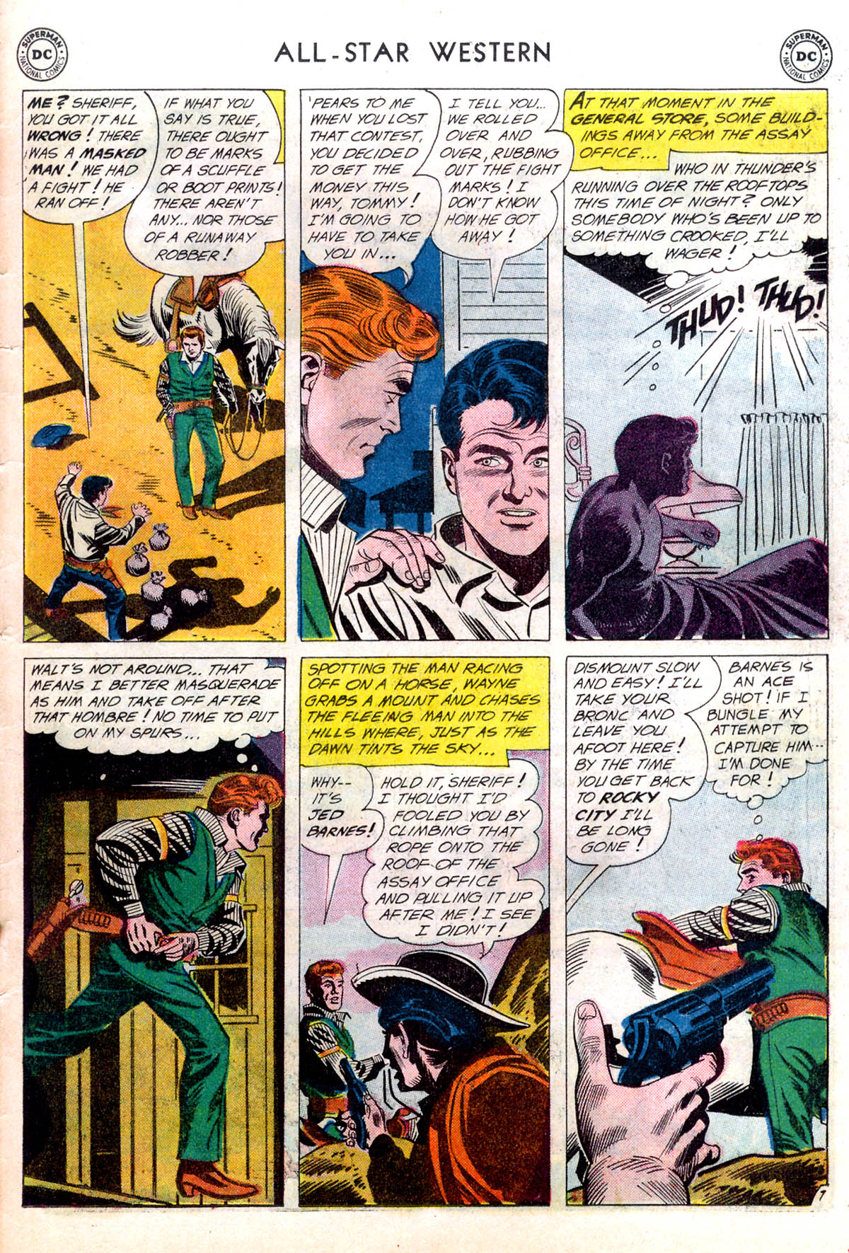 Read online All-Star Western (1951) comic -  Issue #116 - 31
