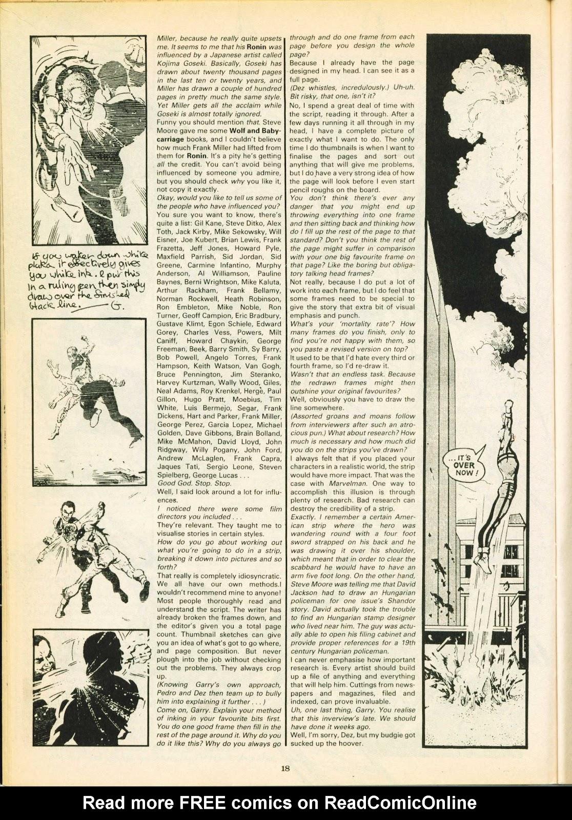 Warrior Issue #18 #19 - English 18
