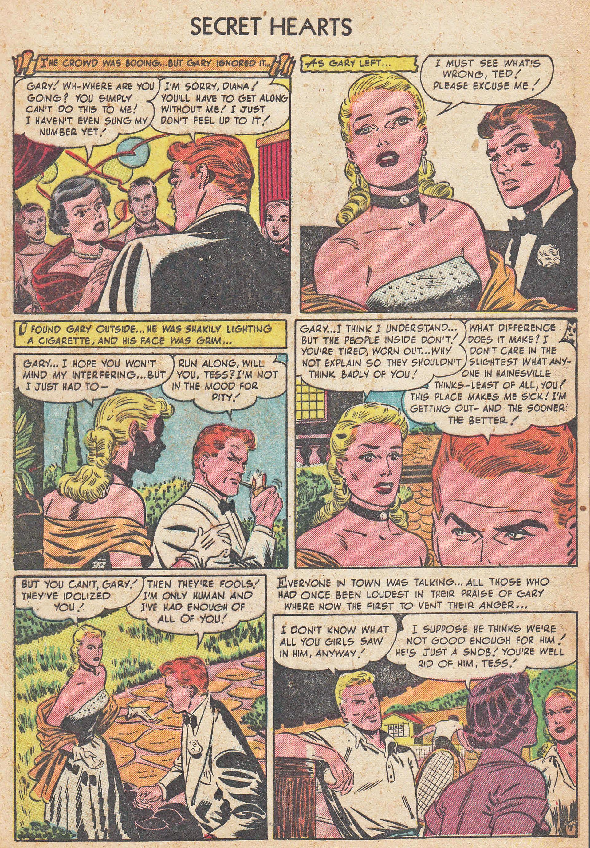 Read online Secret Hearts comic -  Issue #7 - 9