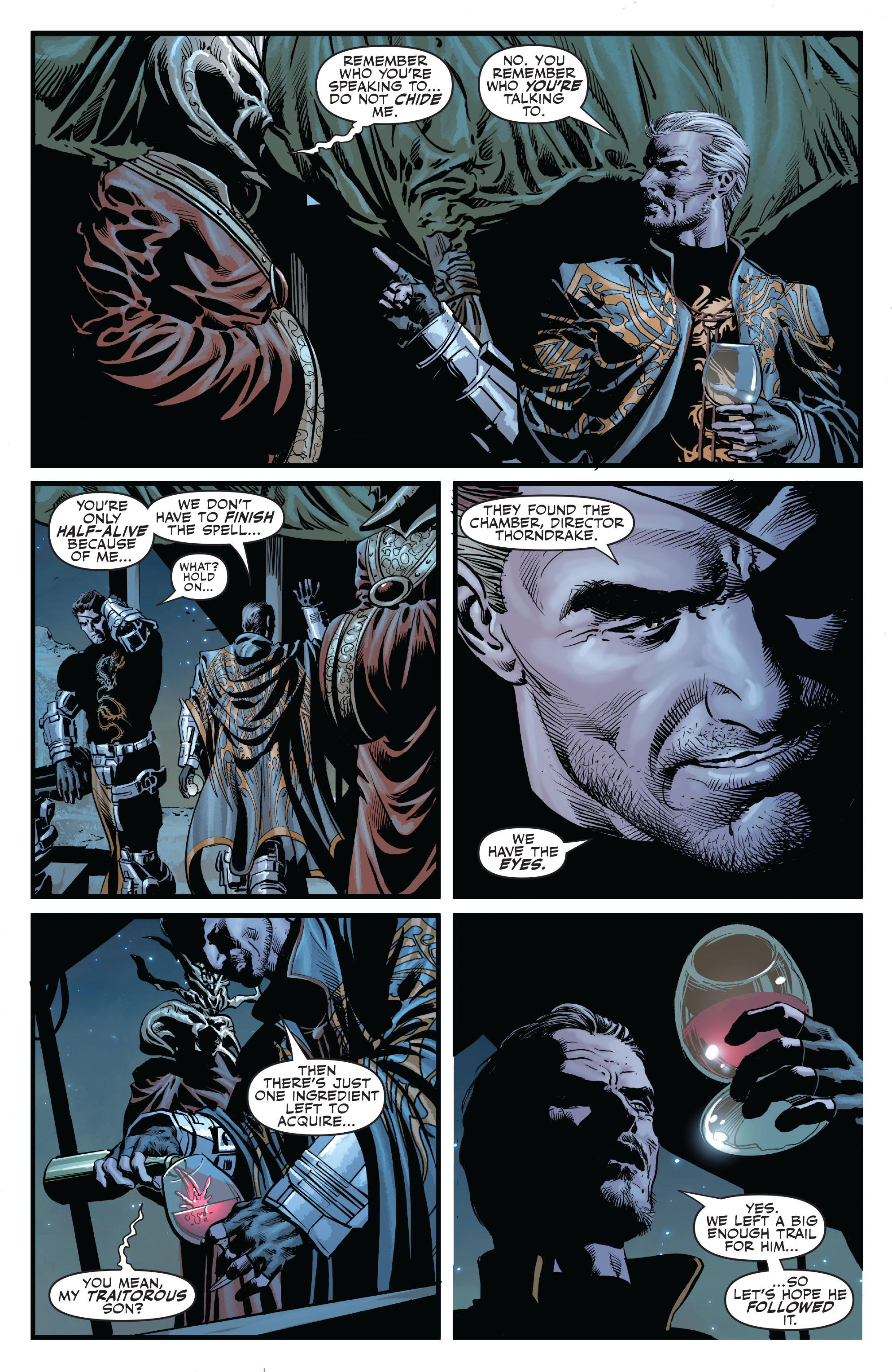 Read online Secret Avengers (2010) comic -  Issue #6 - 23