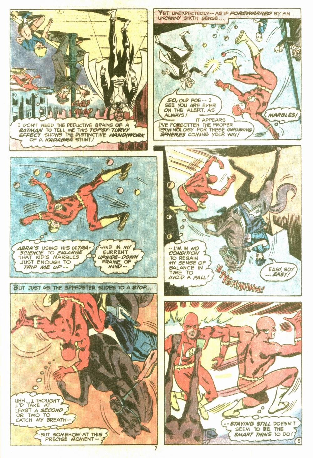 Read online Adventure Comics (1938) comic -  Issue #464 - 7