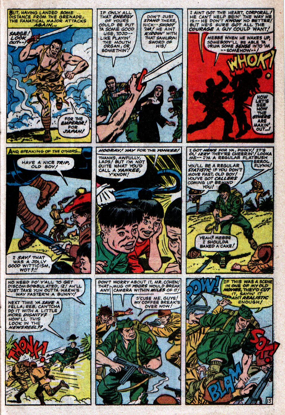Read online Sgt. Fury comic -  Issue #23 - 21