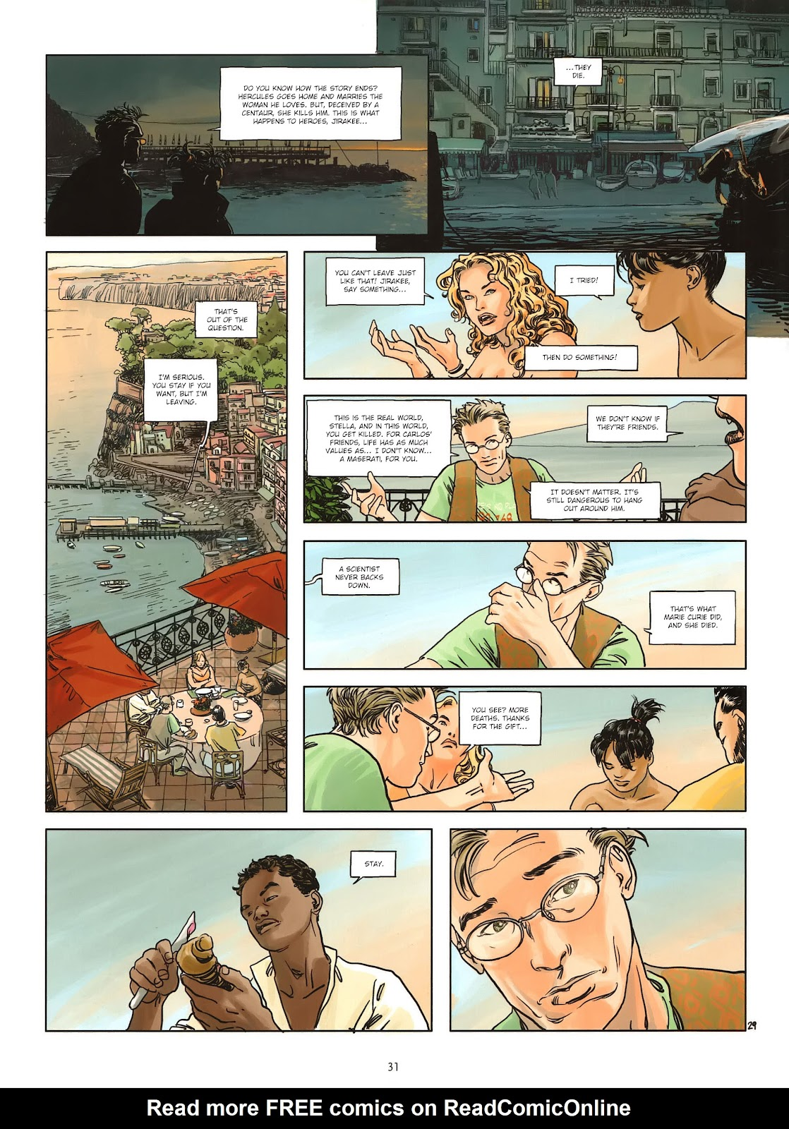 Read online Cutting Edge (2013) comic -  Issue #1 - 29