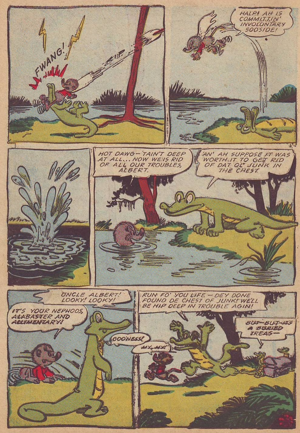 Read online Animal Comics comic -  Issue #23 - 14