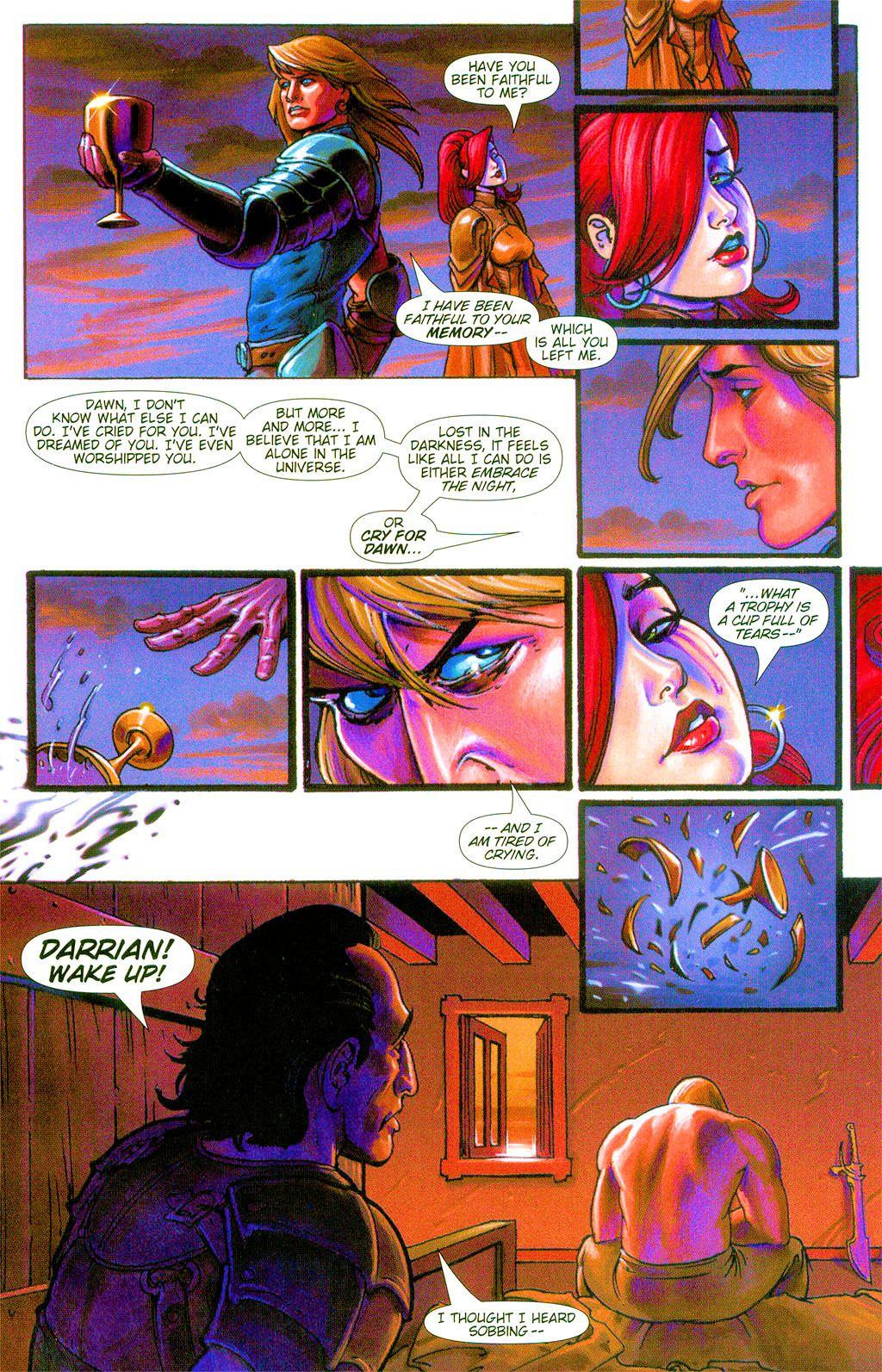 Read online Dawn: Three Tiers comic -  Issue #3 - 9