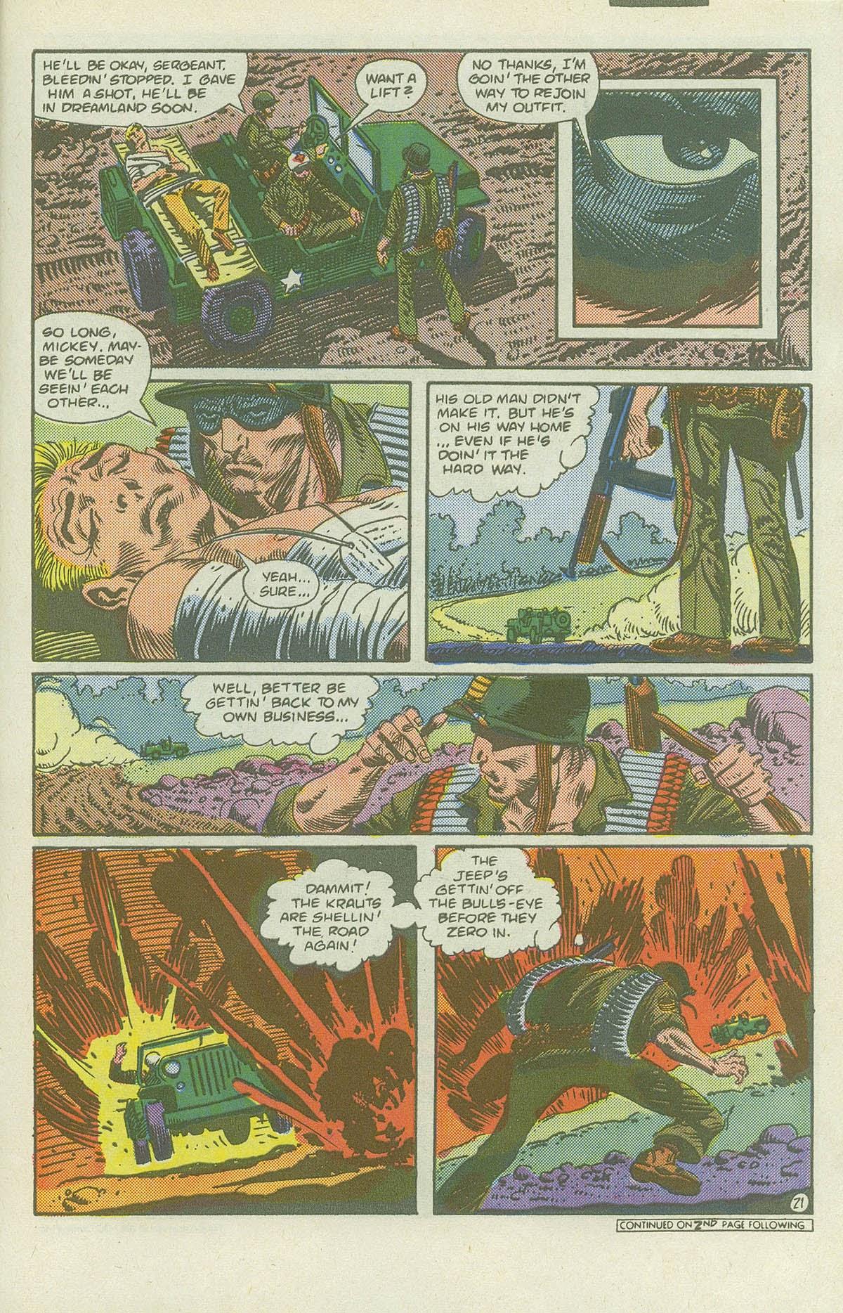 Read online Sgt. Rock comic -  Issue #419 - 27