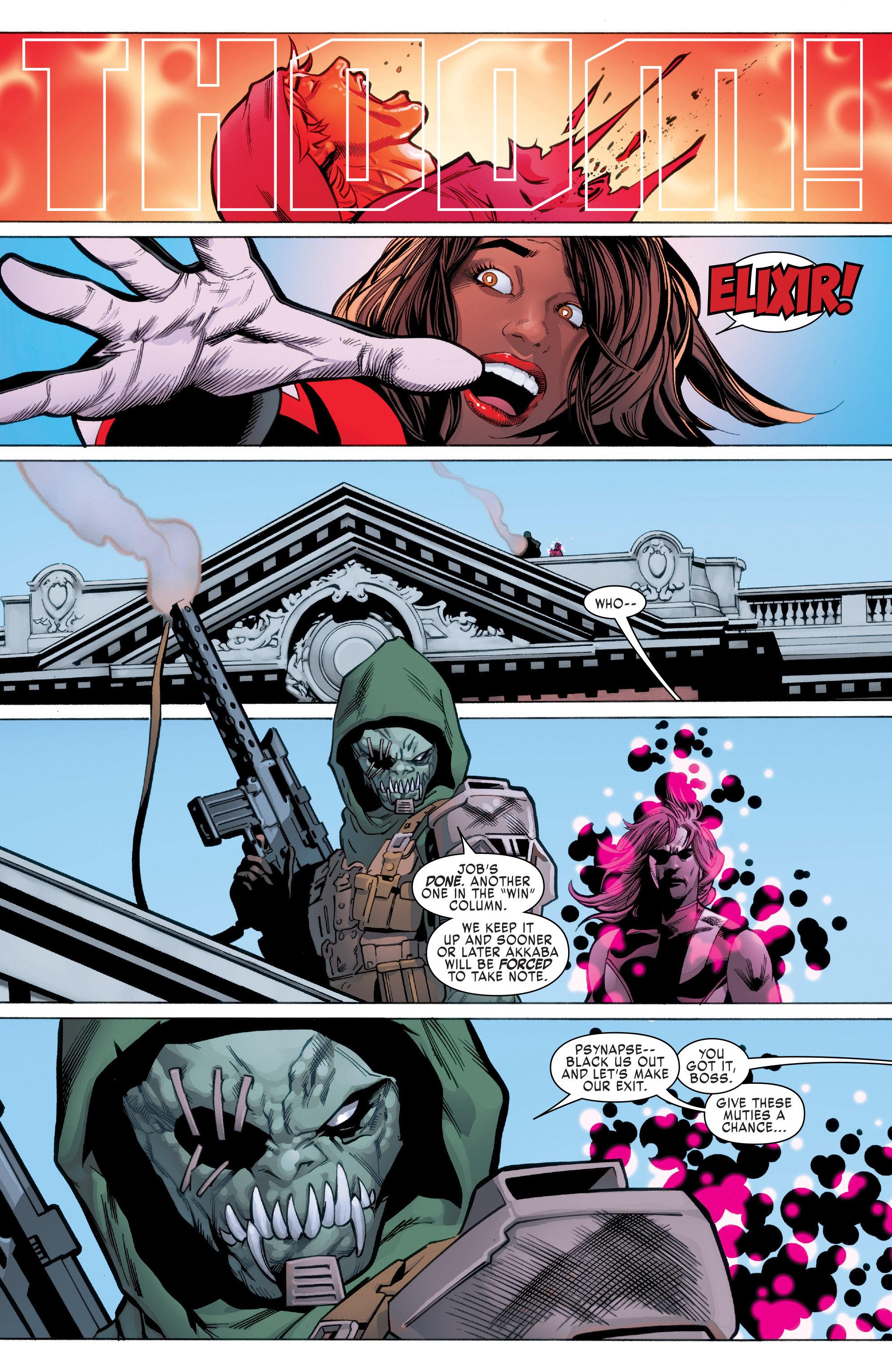 Read online Uncanny X-Men (2016) comic -  Issue #2 - 21