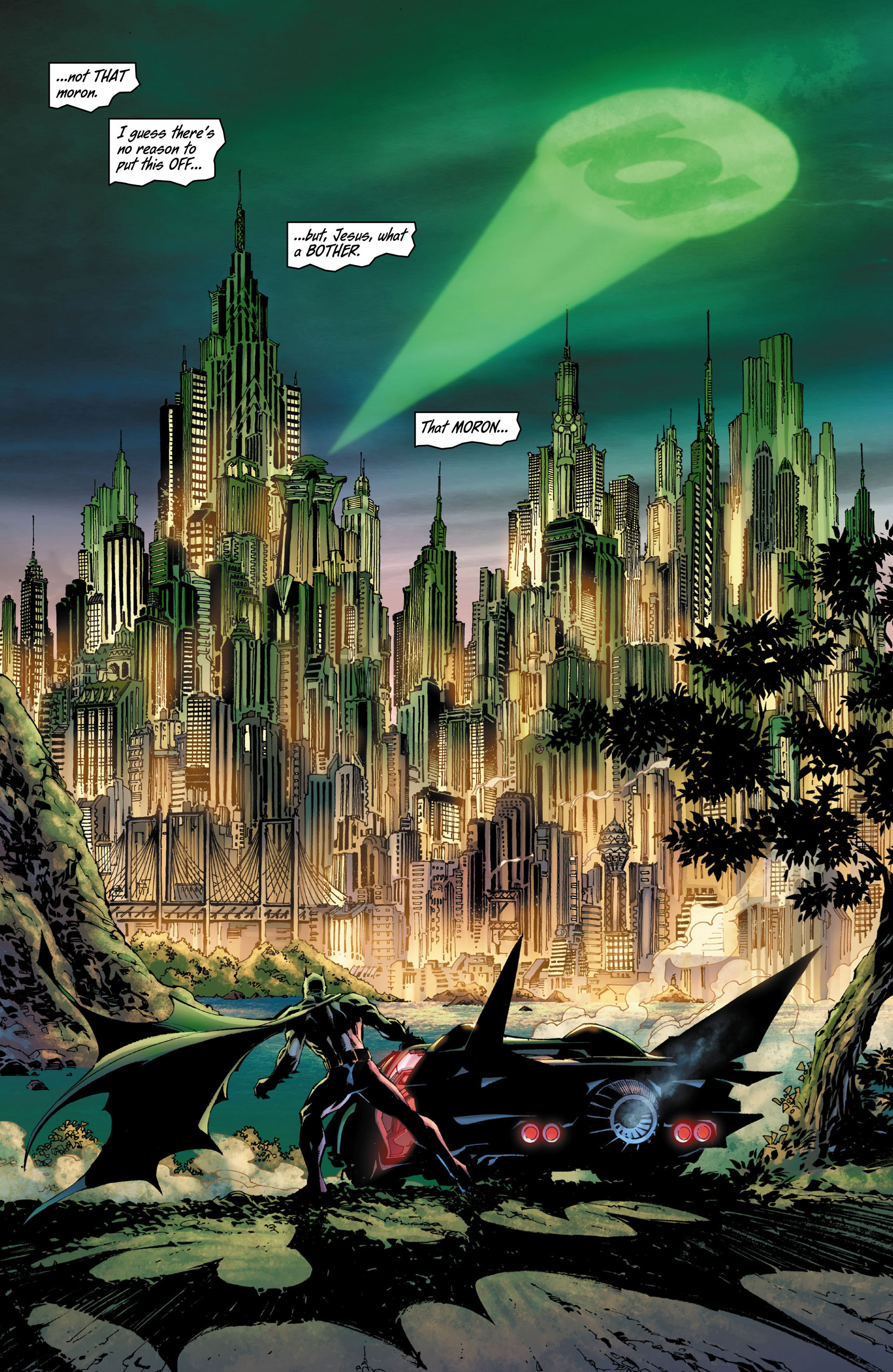 Read online All Star Batman & Robin, The Boy Wonder comic -  Issue #8 - 13