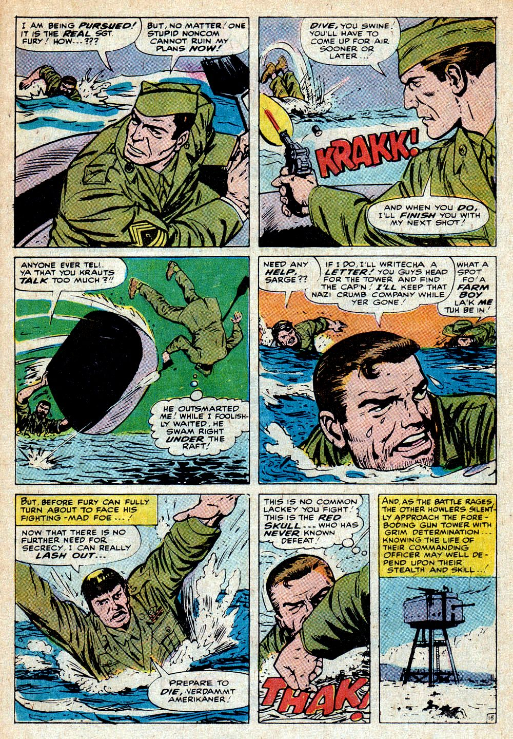 Read online Sgt. Fury comic -  Issue #85 - 23