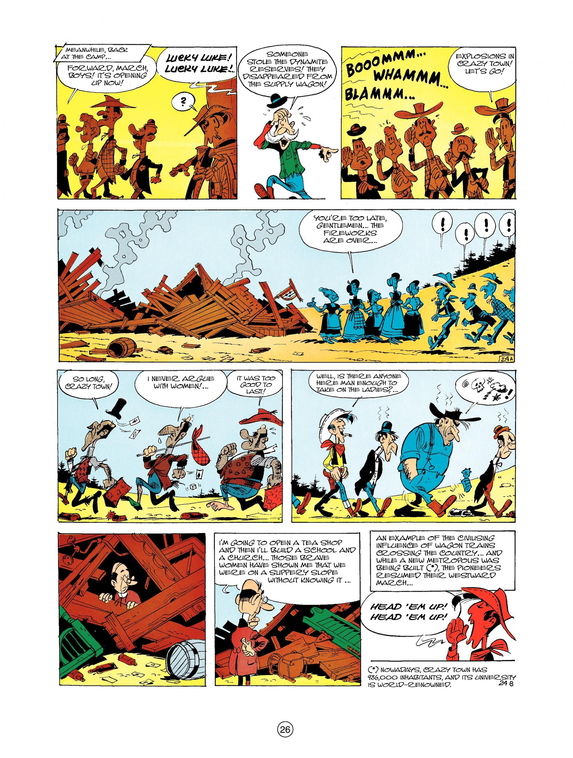 Read online A Lucky Luke Adventure comic -  Issue #9 - 26