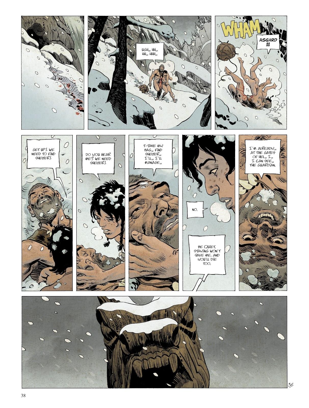 Read online Asgard comic -  Issue #2 - 40