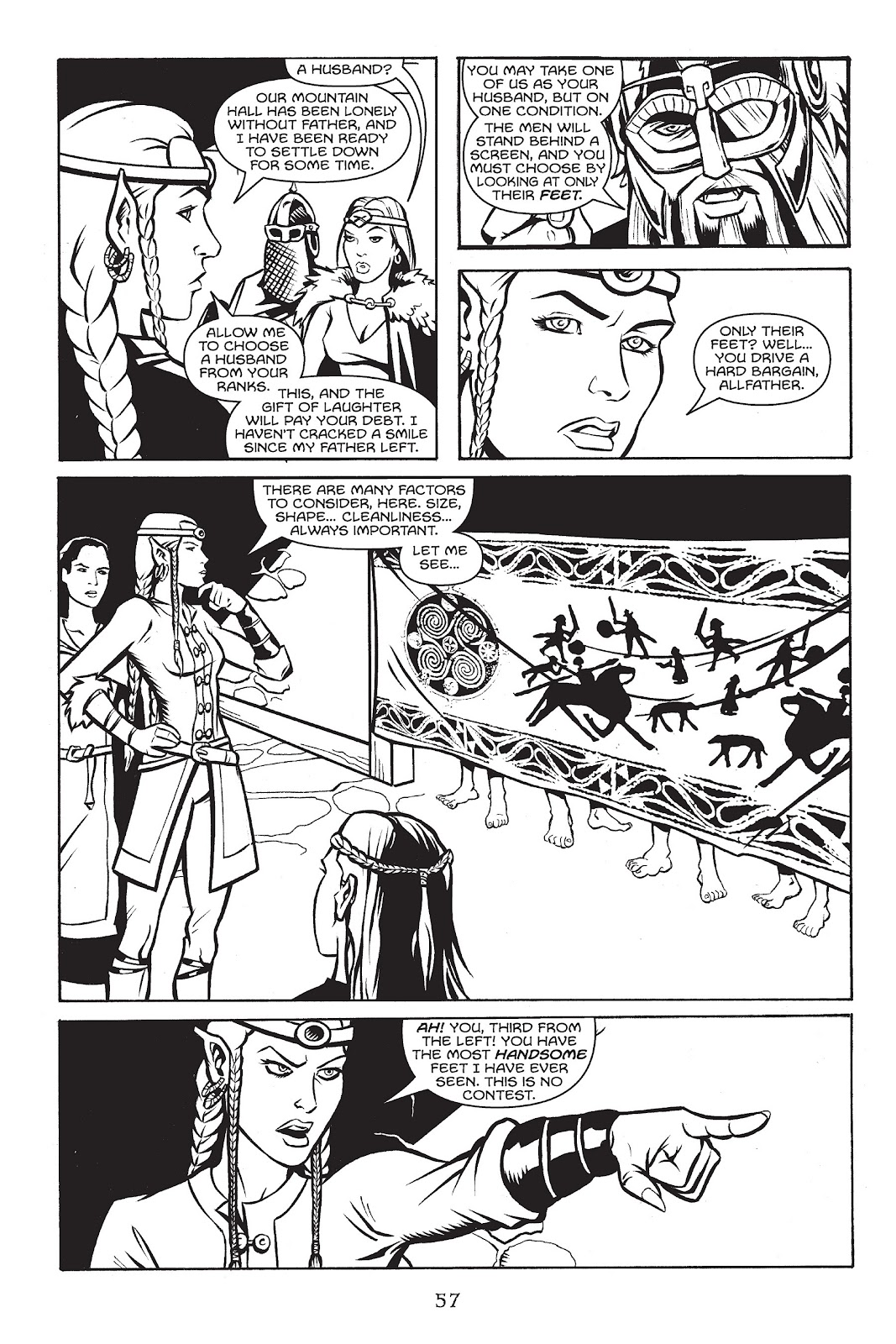 Read online Gods of Asgard comic -  Issue # TPB (Part 1) - 58