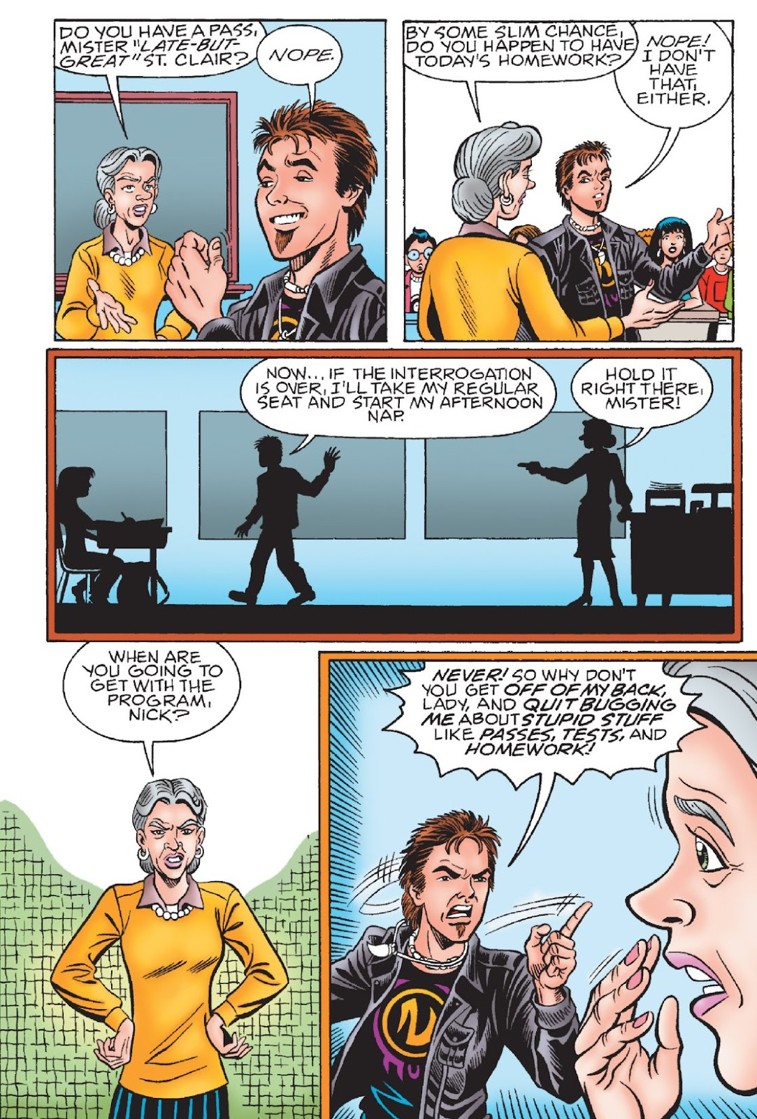 Read online Archie's New Look Series comic -  Issue #1 - 52