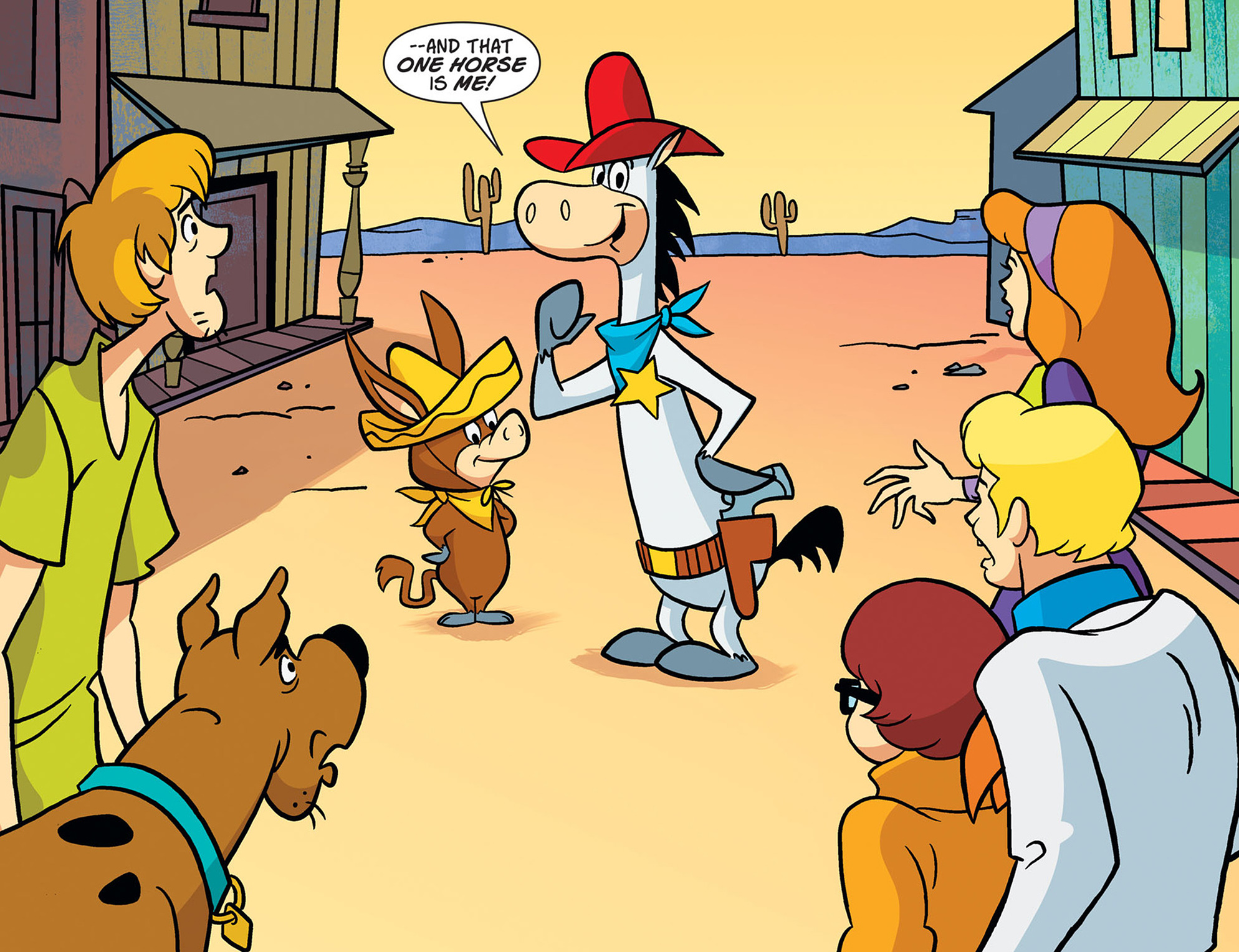 Read online Scooby-Doo! Team-Up comic -  Issue #45 - 7
