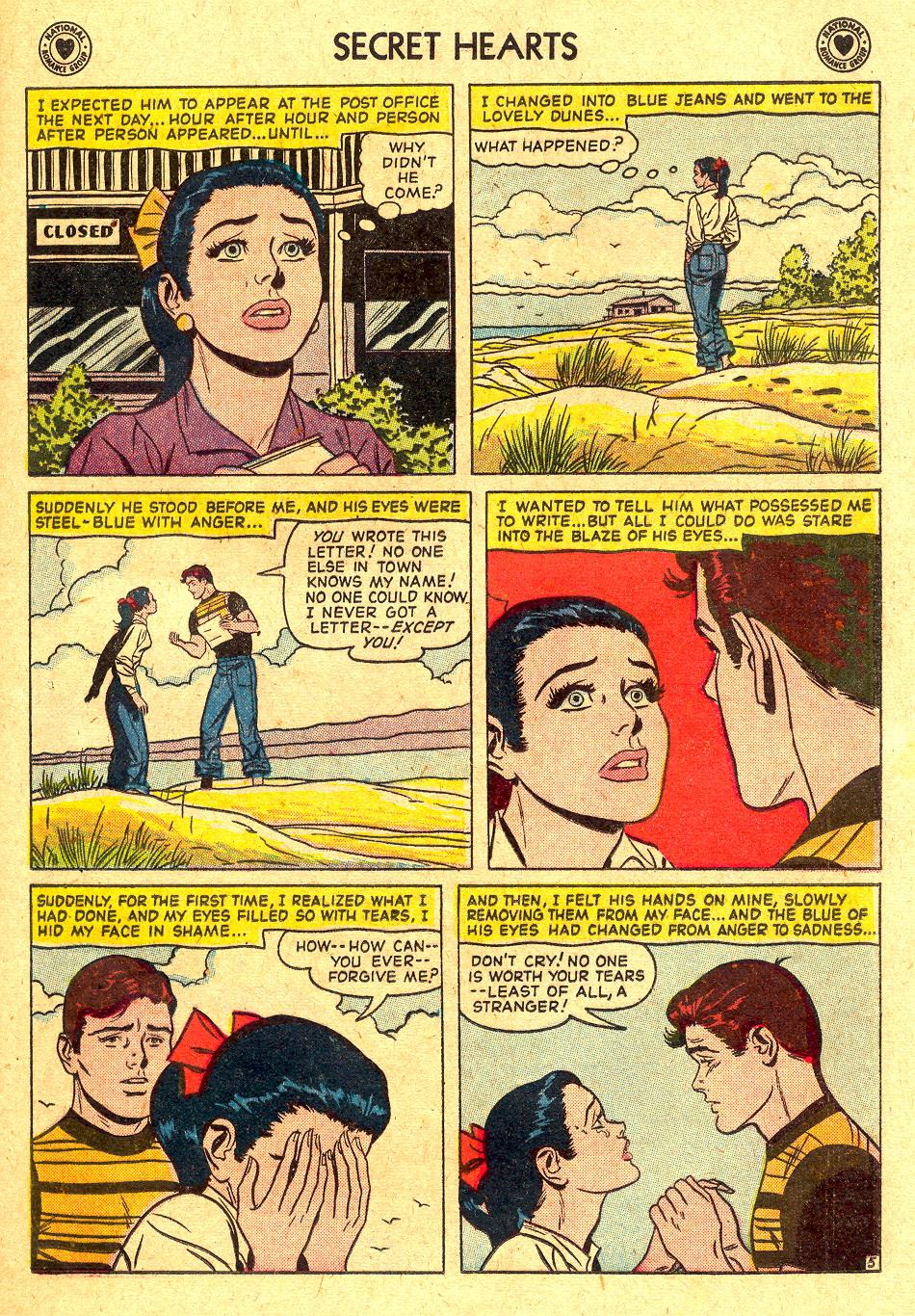 Read online Secret Hearts comic -  Issue #45 - 21
