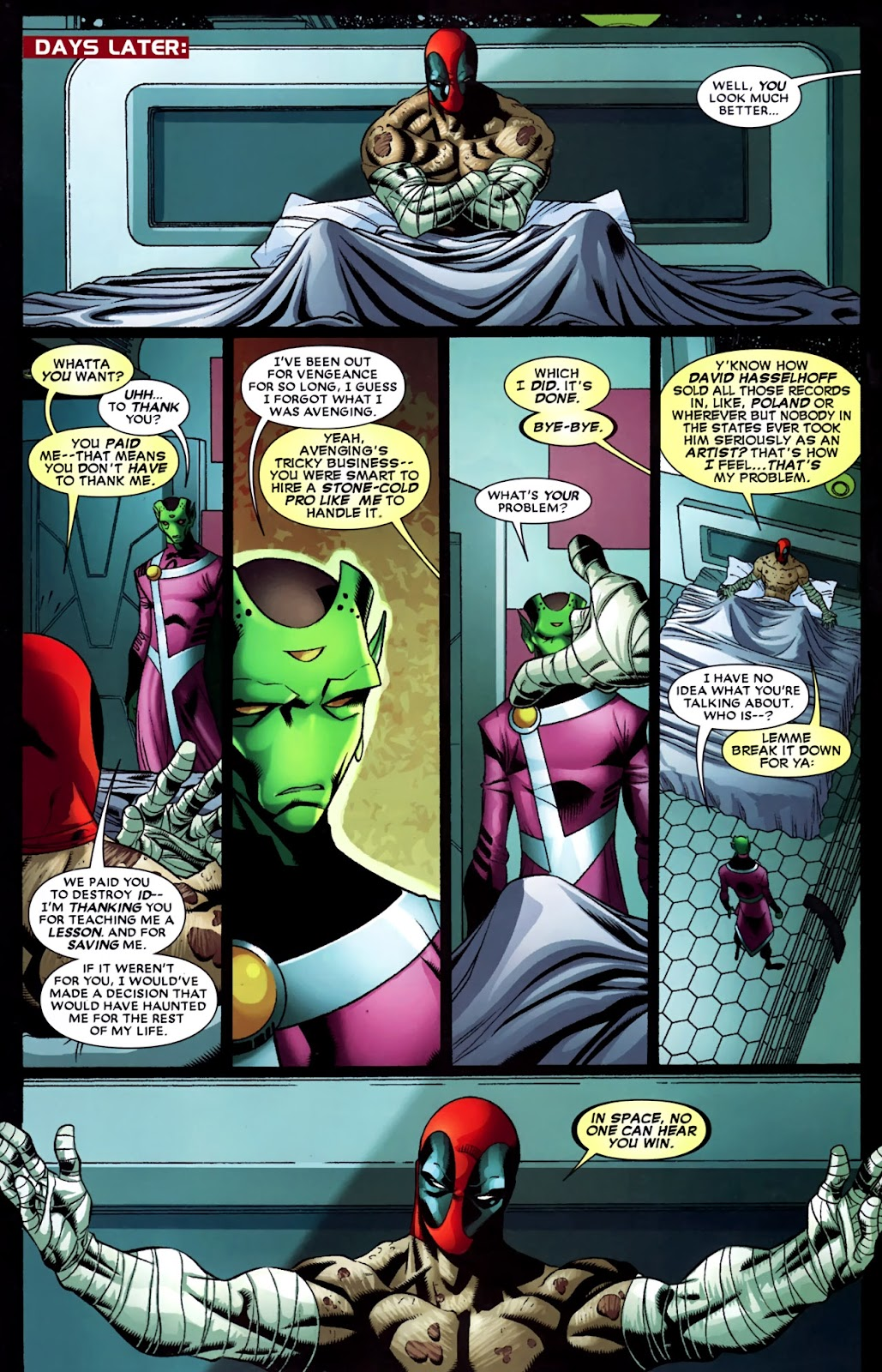 Read online Deadpool (2008) comic -  Issue #35 - 18