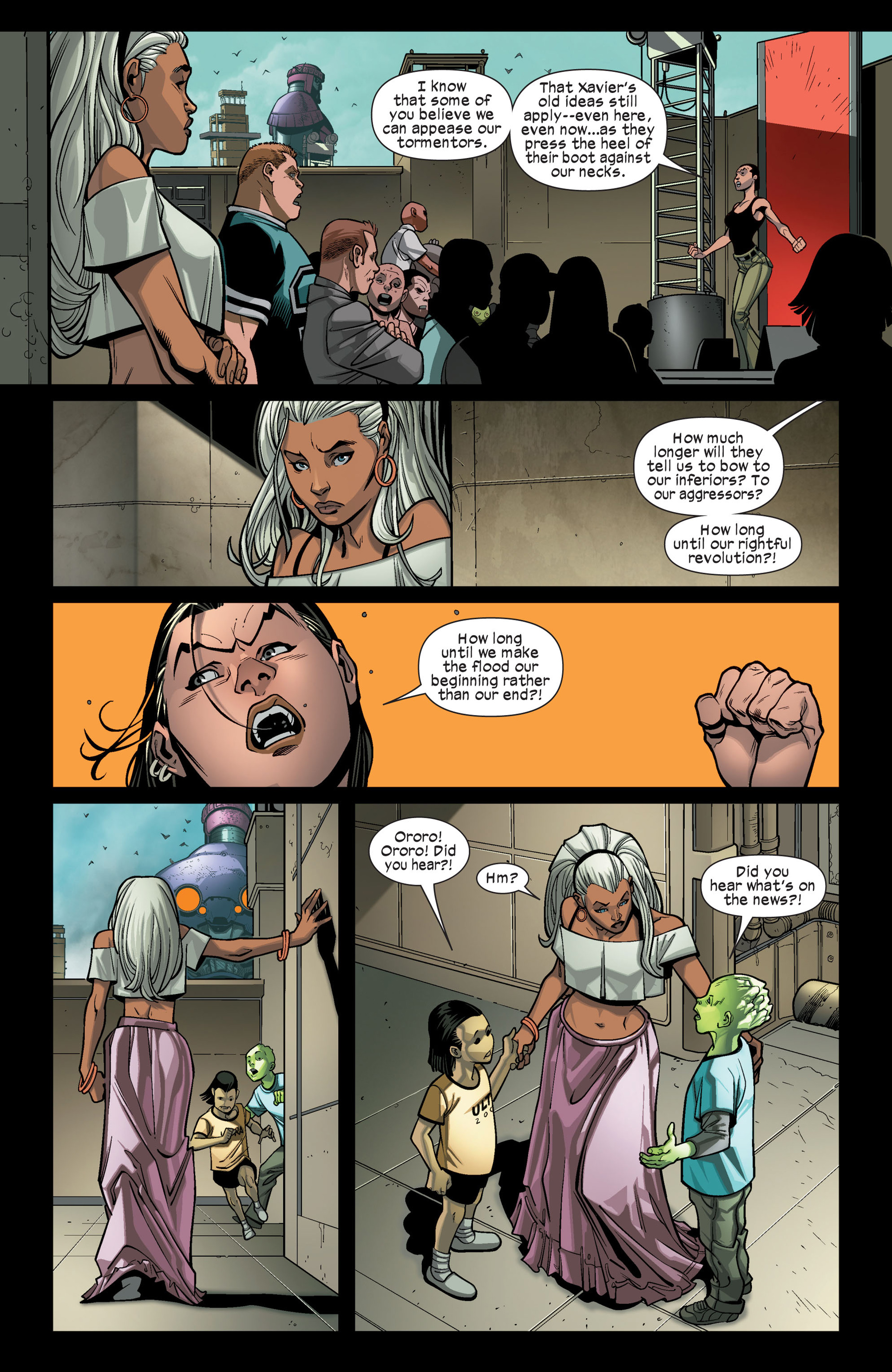 Read online Ultimate Comics X-Men comic -  Issue #9 - 12