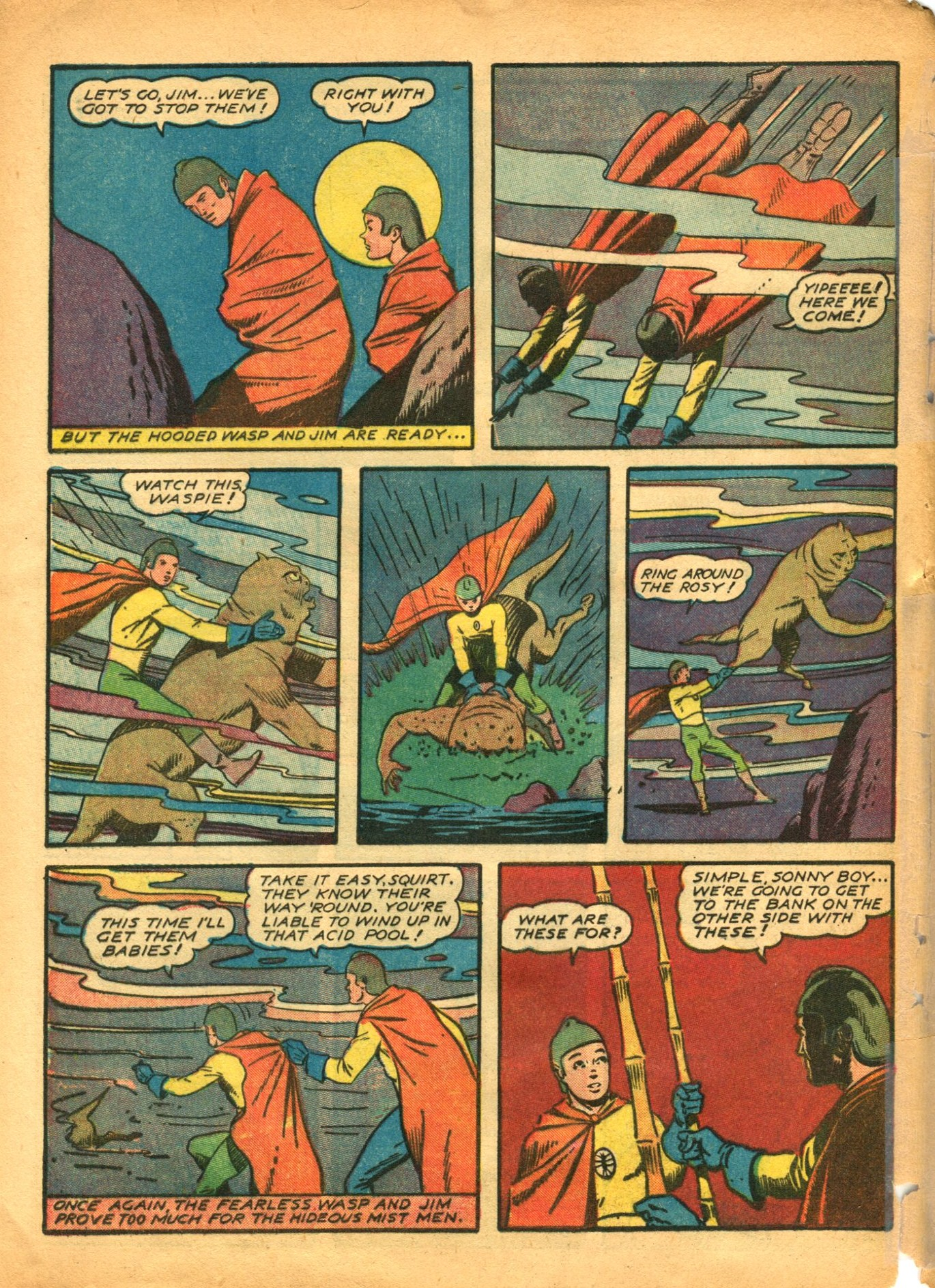 Read online Shadow Comics comic -  Issue #12 - 54