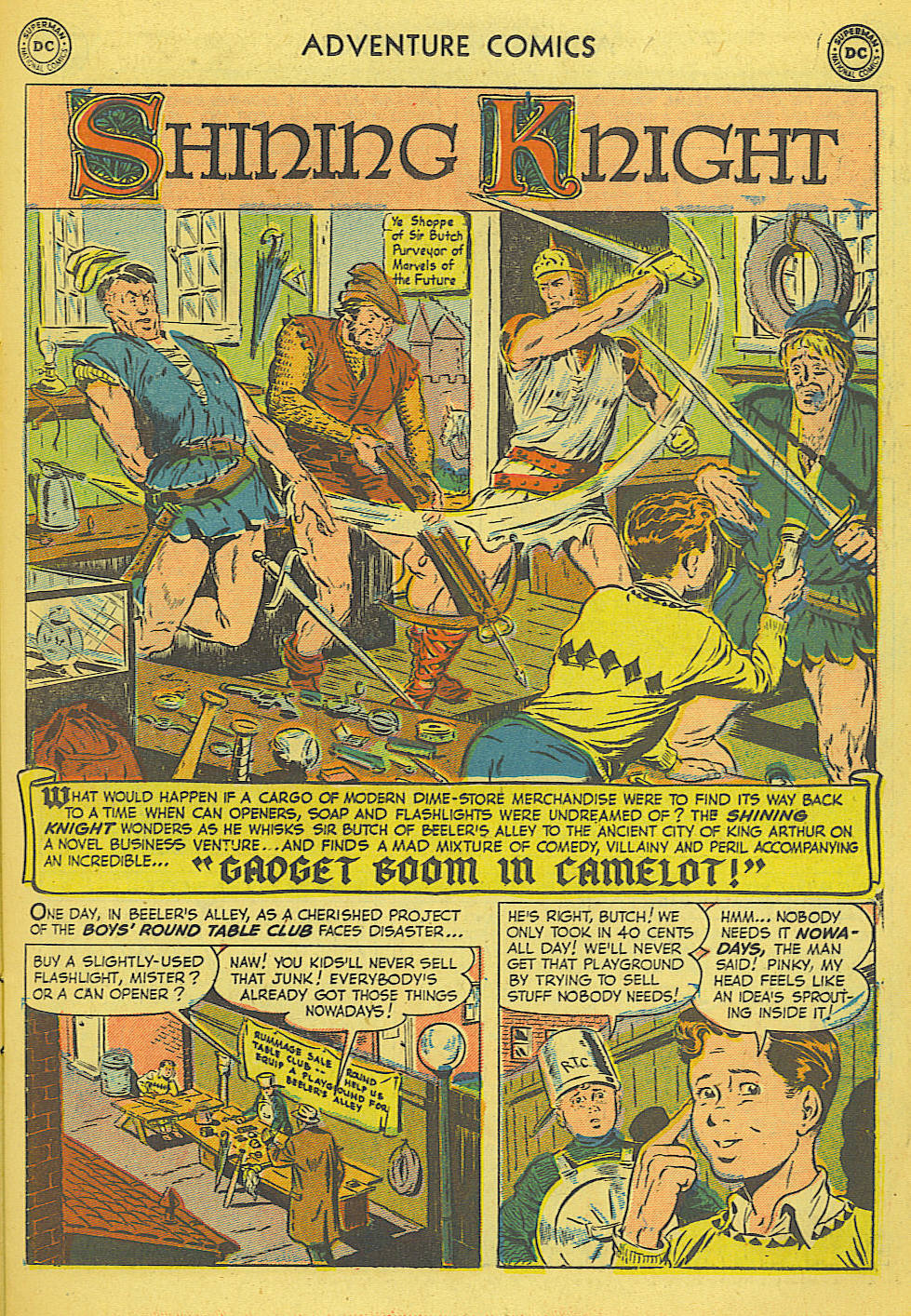 Read online Adventure Comics (1938) comic -  Issue #165 - 14
