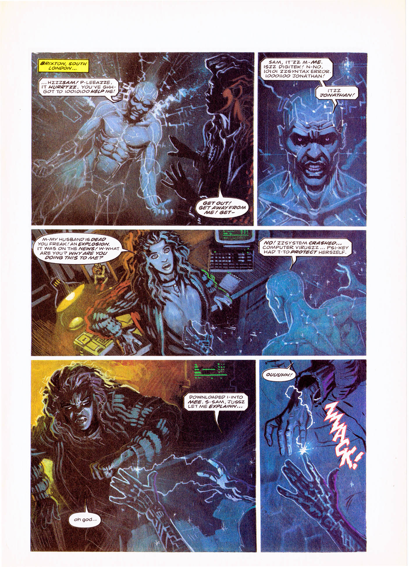 Read online Overkill comic -  Issue #4 - 11