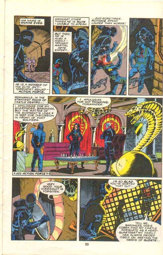 G.I. Joe European Missions issue 11 - Page 20