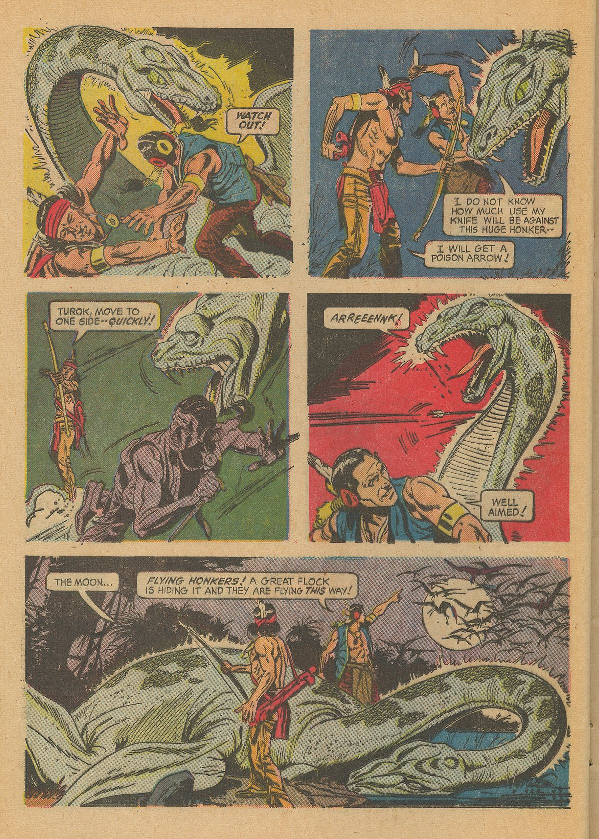 Read online Turok, Son of Stone comic -  Issue #59 - 24