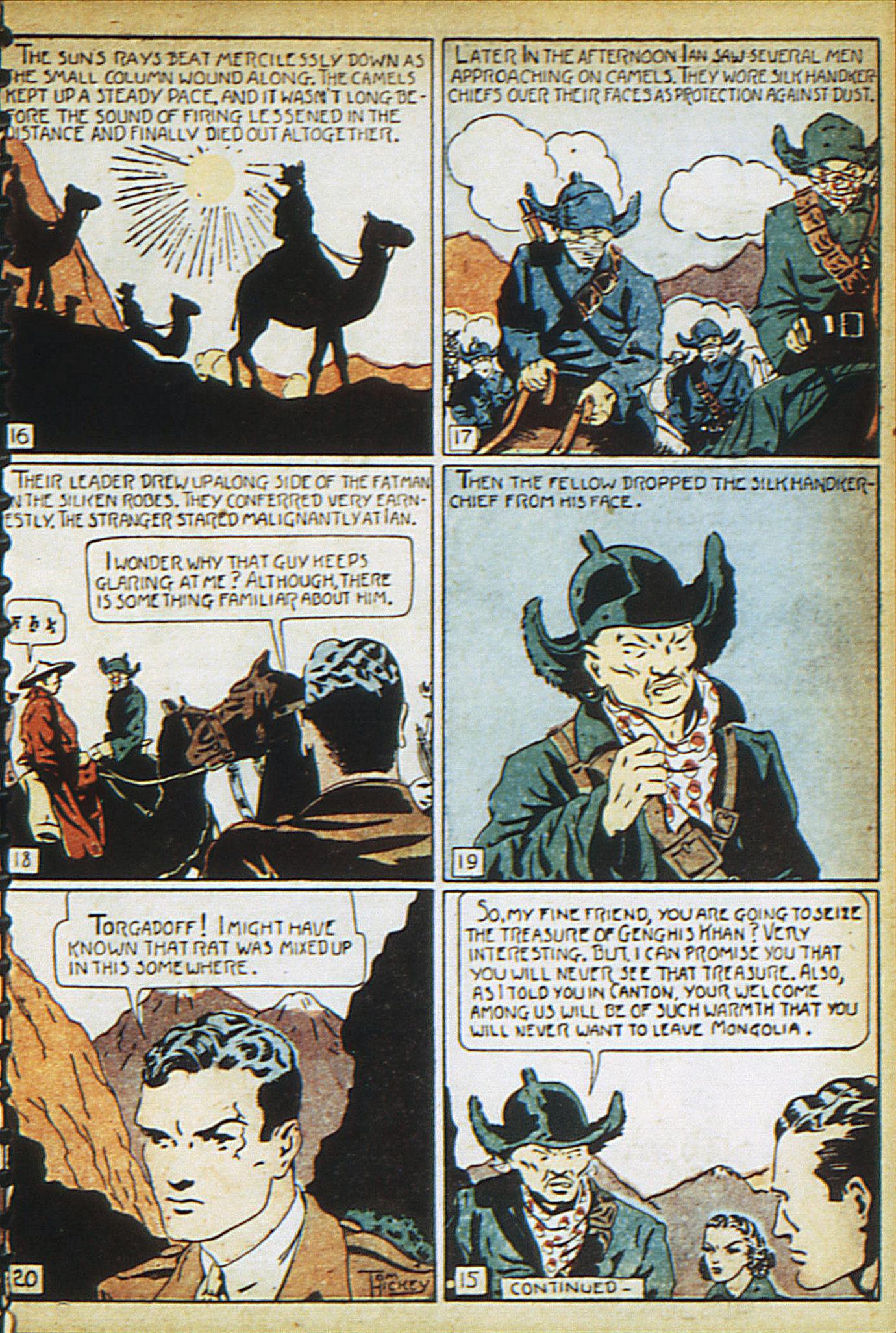 Read online Adventure Comics (1938) comic -  Issue #17 - 16