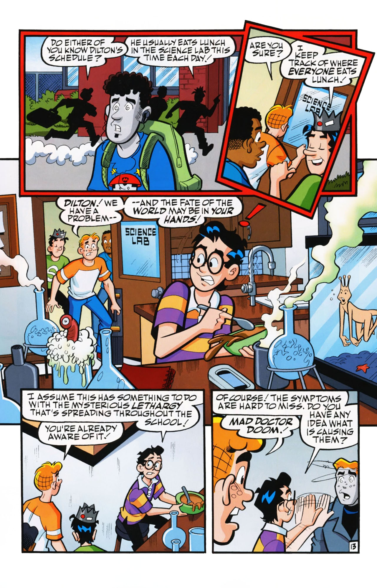 Read online Archie (1960) comic -  Issue #612 - 20