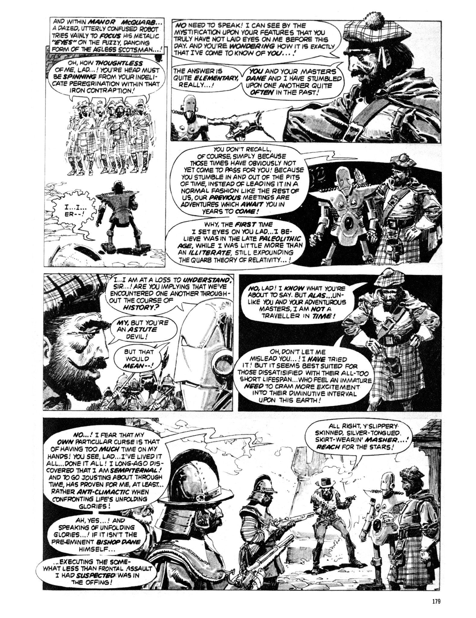 Read online Eerie Archives comic -  Issue # TPB 20 - 179