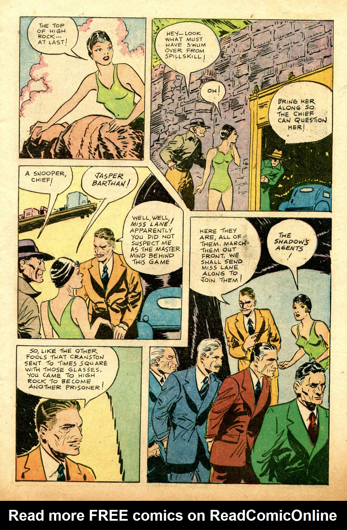 Read online Shadow Comics comic -  Issue #74 - 13