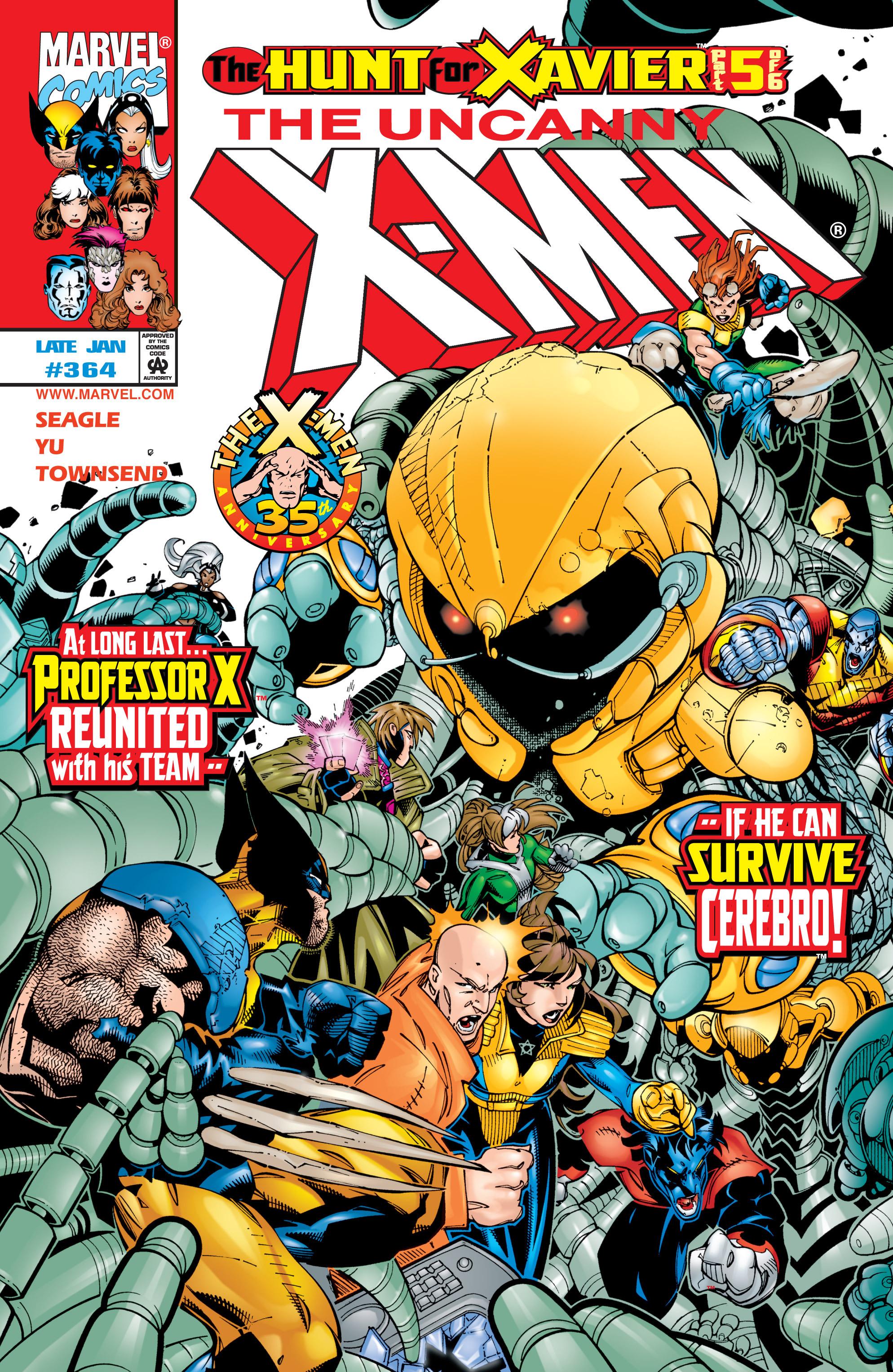 Uncanny X-Men (1963) 364 Page 1