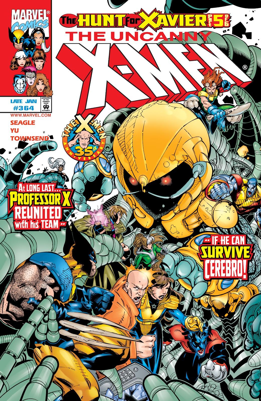 Uncanny X-Men (1963) issue 364 - Page 1