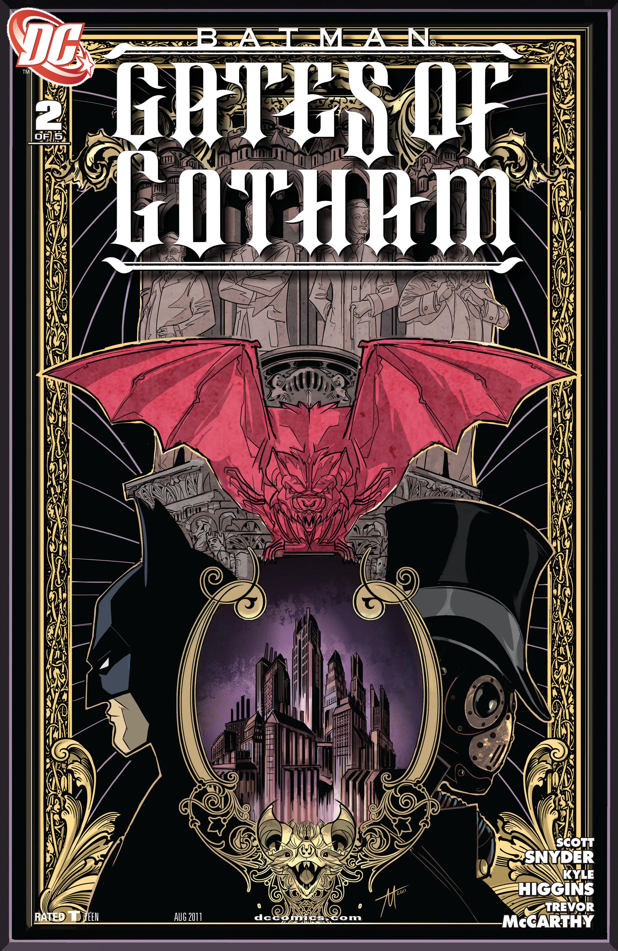 Batman: Gates of Gotham 2 Page 1