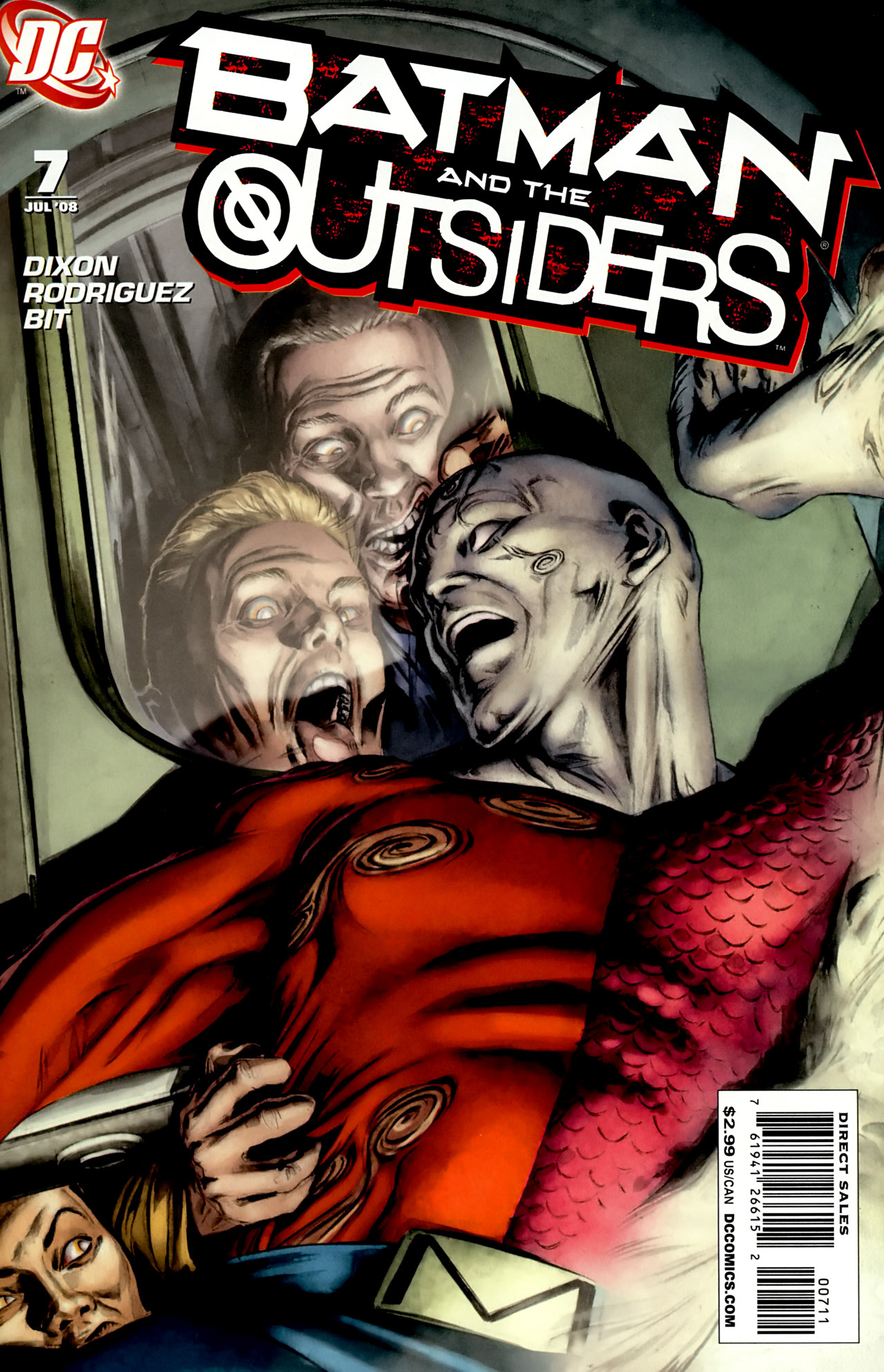 Read Online Batman And The Outsiders 2007 Comic Issue 7