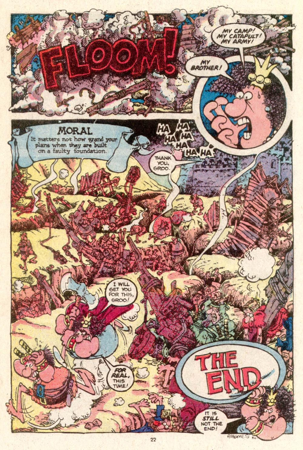 Read online Sergio Aragonés Groo the Wanderer comic -  Issue #19 - 23
