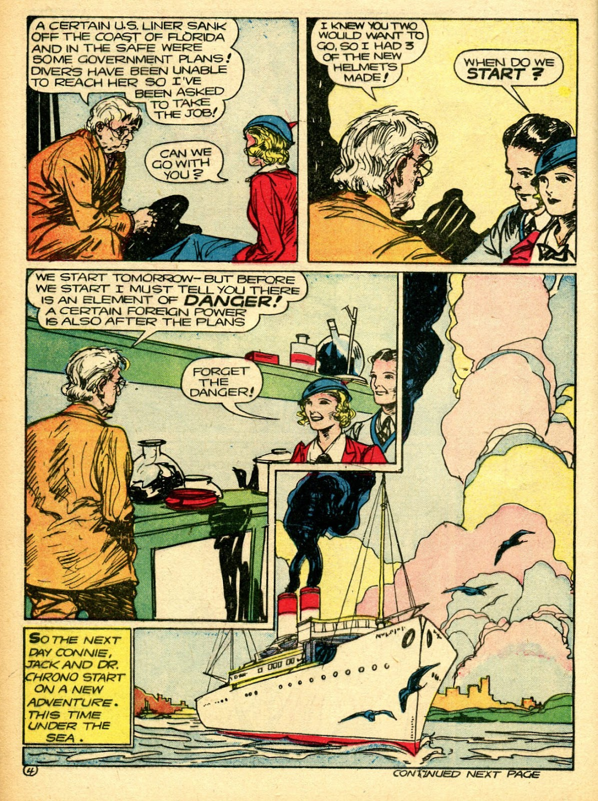 Read online Famous Funnies comic -  Issue #94 - 22