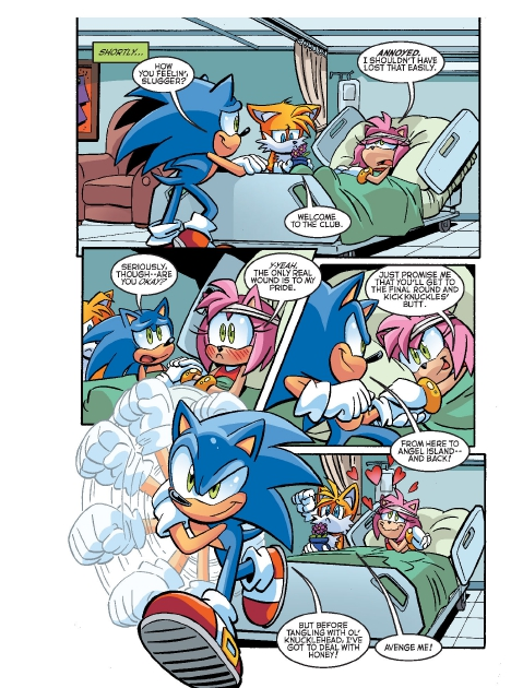 Read online Sonic Comics Spectacular: Speed of Sound comic -  Issue # Full - 47