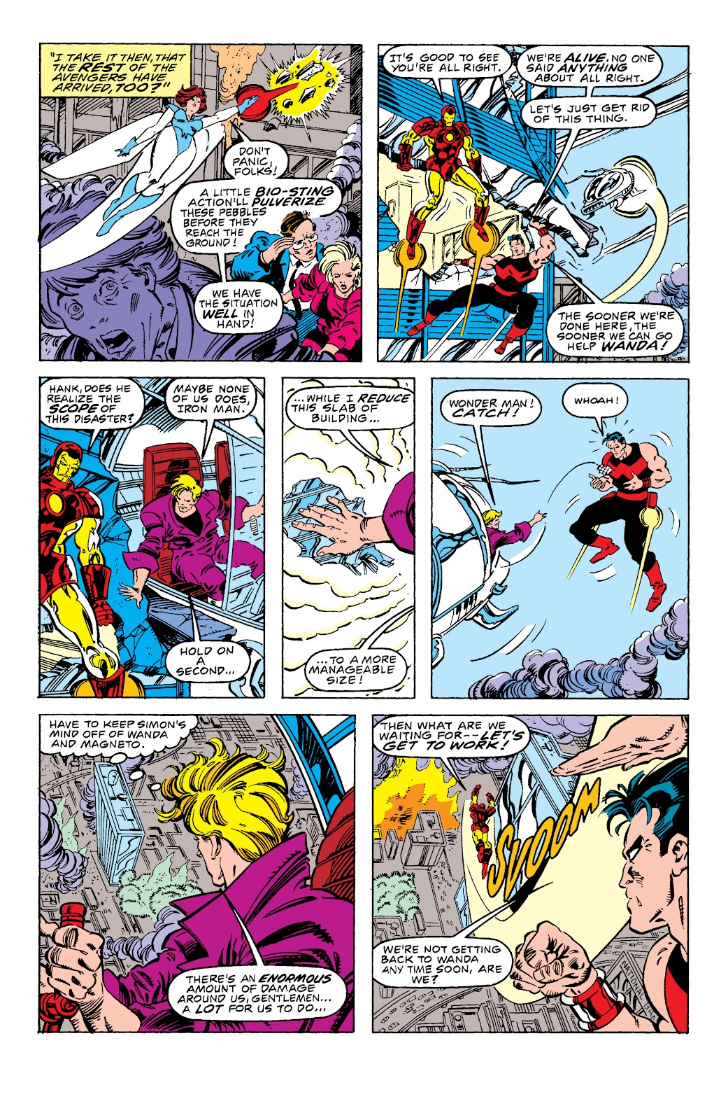 Avengers West Coast (1989) issue 58 - Page 8