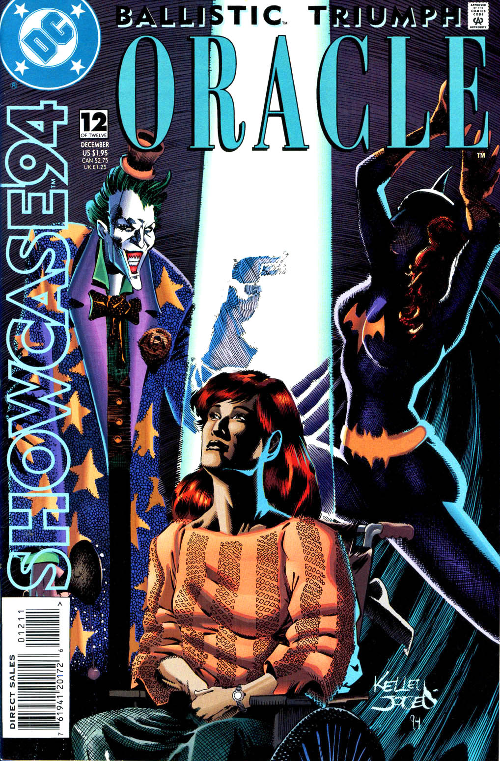 Read online Showcase '94 comic -  Issue #12 - 1