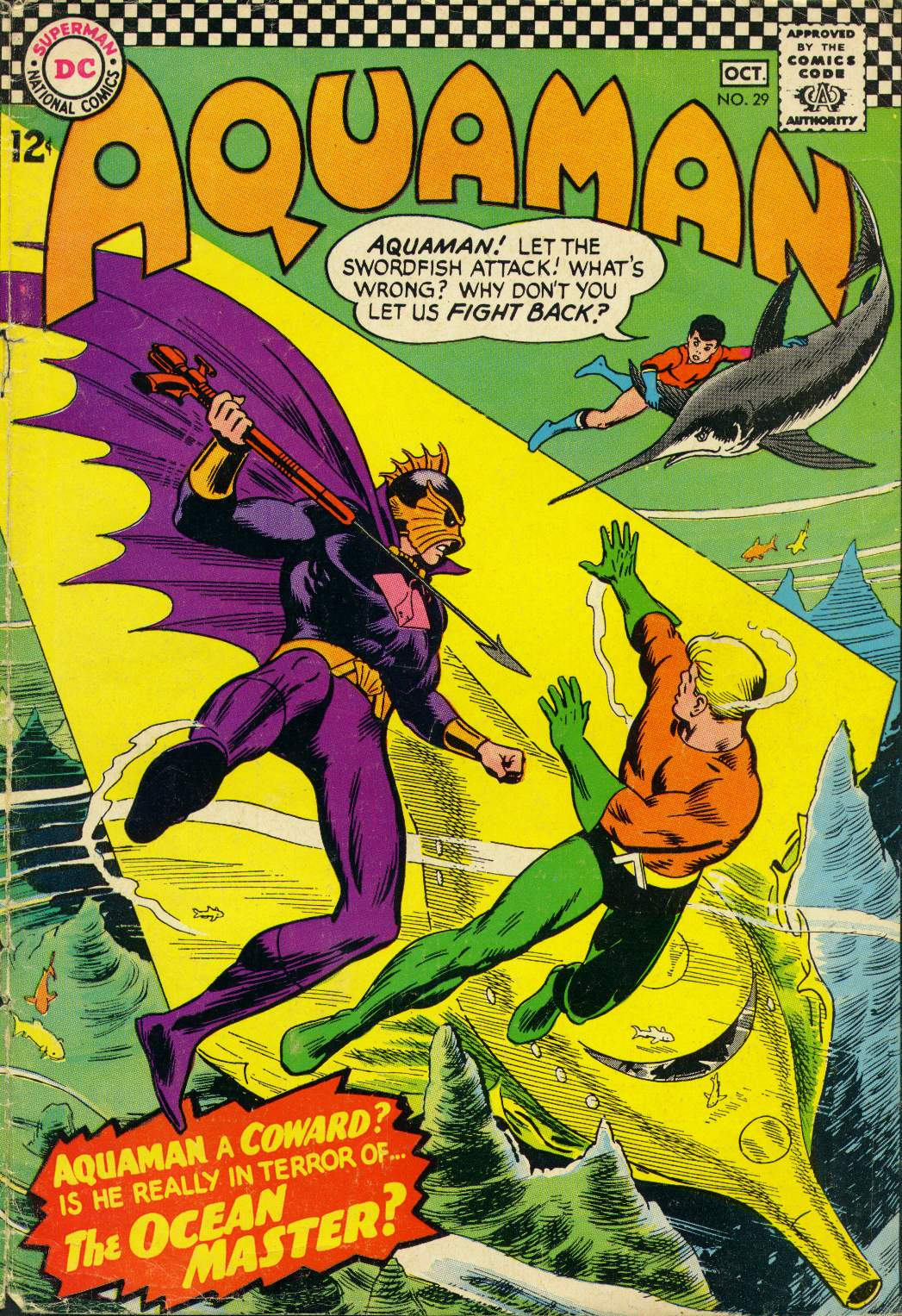 Read online Aquaman (1962) comic -  Issue #29 - 1