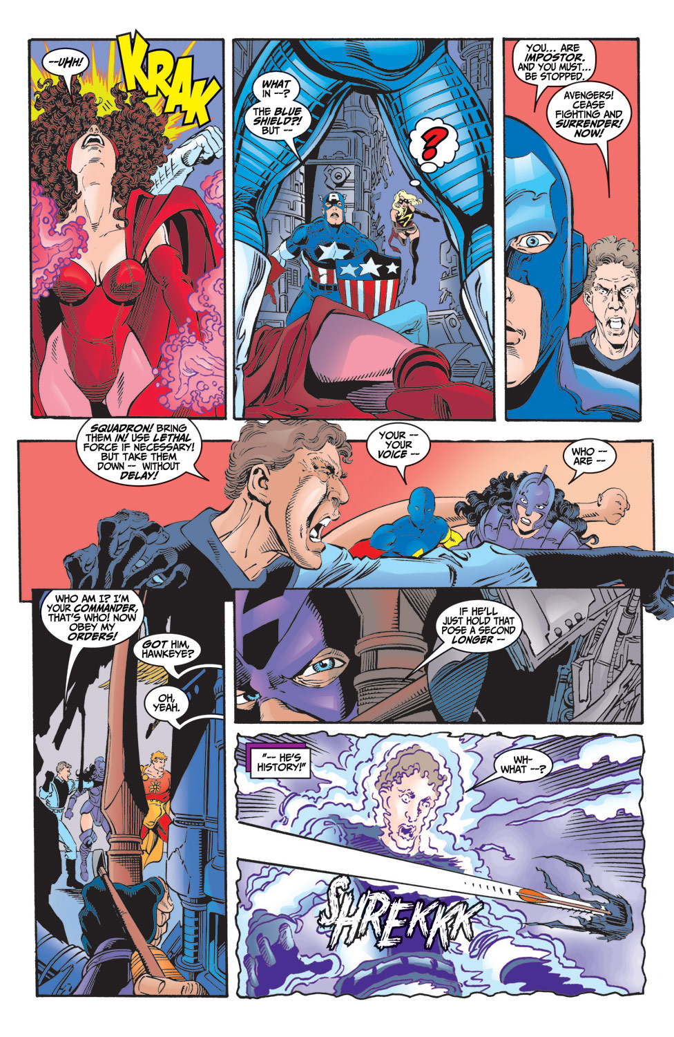 Read online Avengers (1998) comic -  Issue #6 - 20