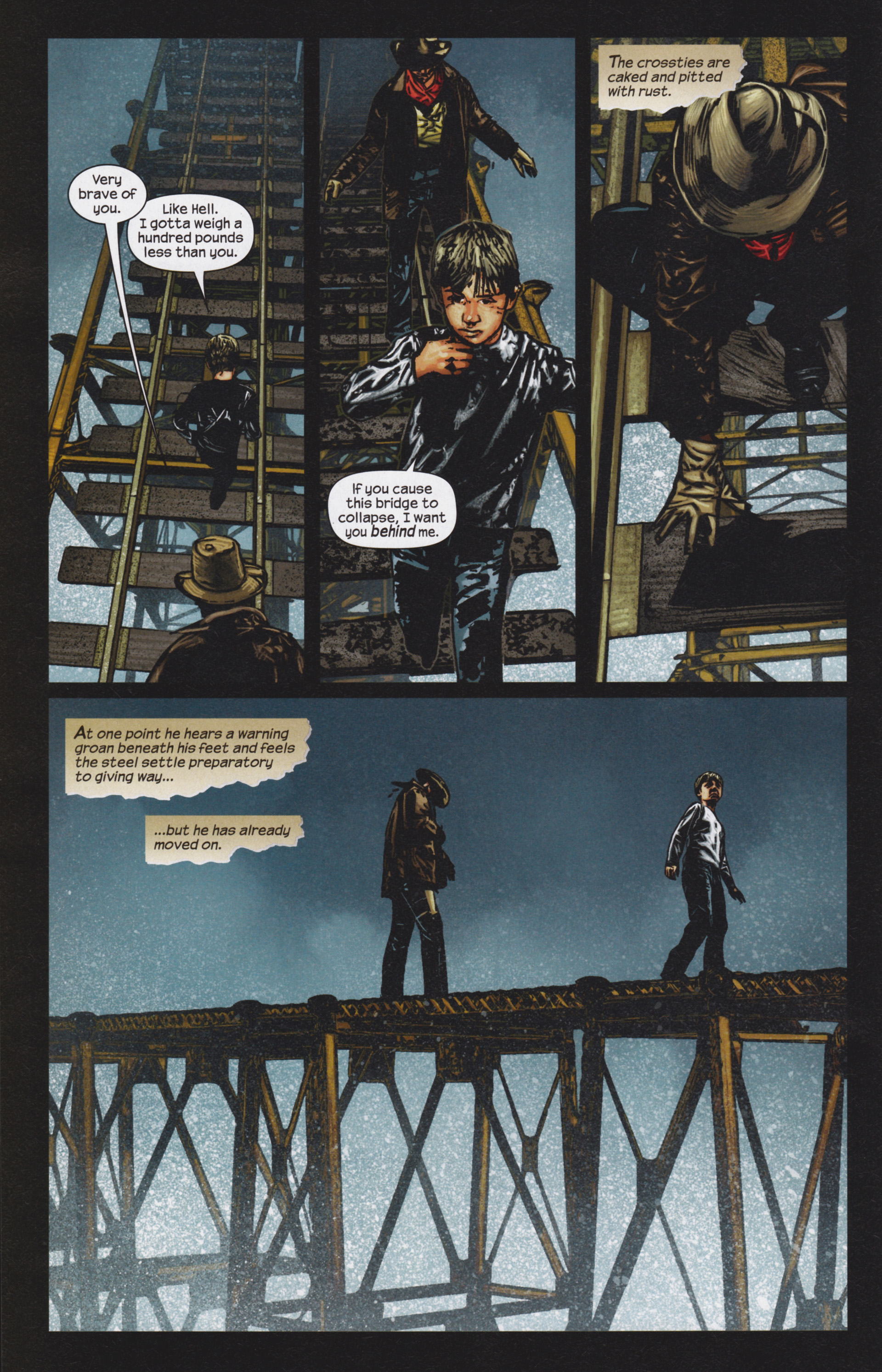 Read online Dark Tower: The Gunslinger - The Man in Black comic -  Issue #4 - 11