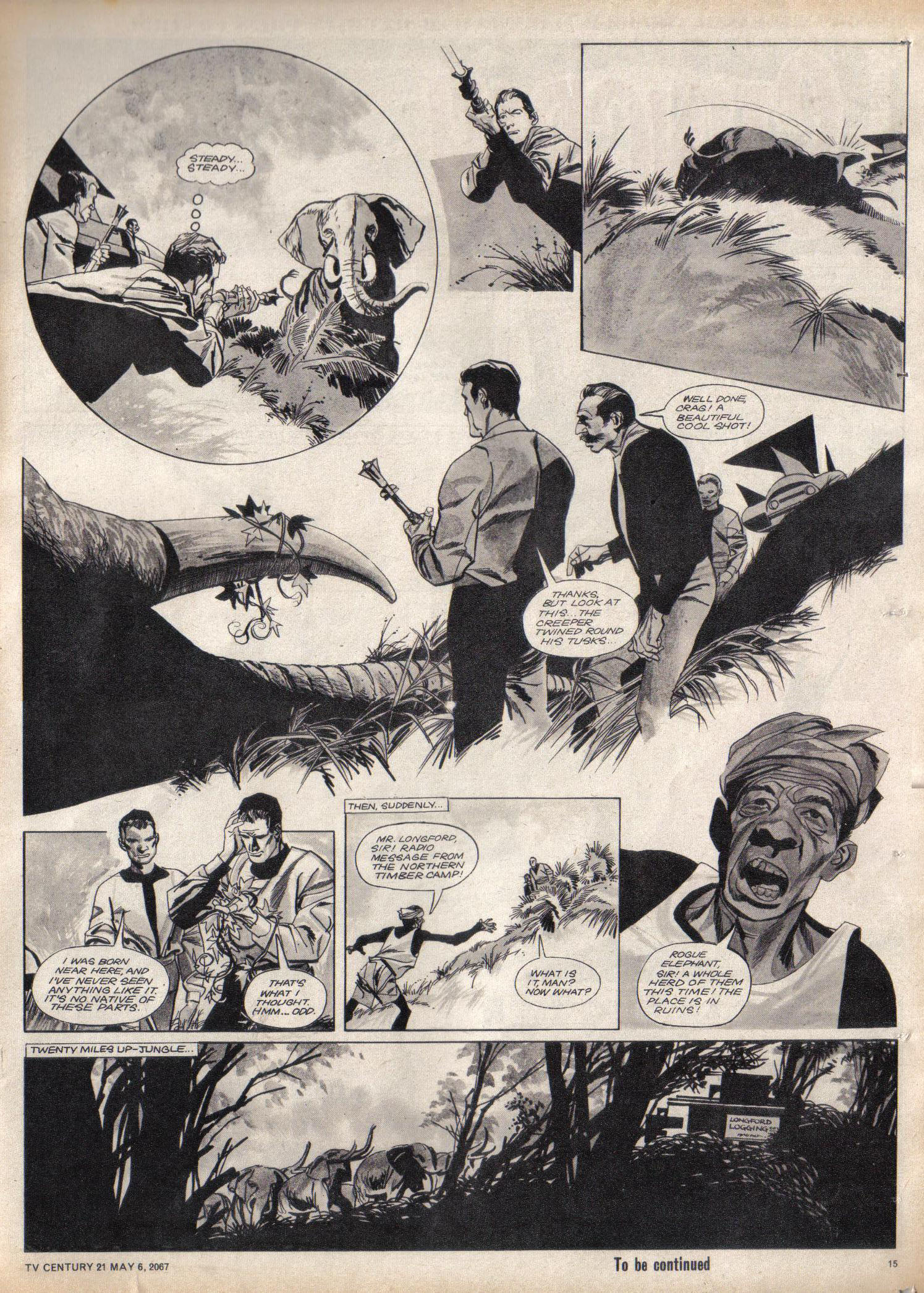 Read online TV Century 21 (TV 21) comic -  Issue #120 - 14
