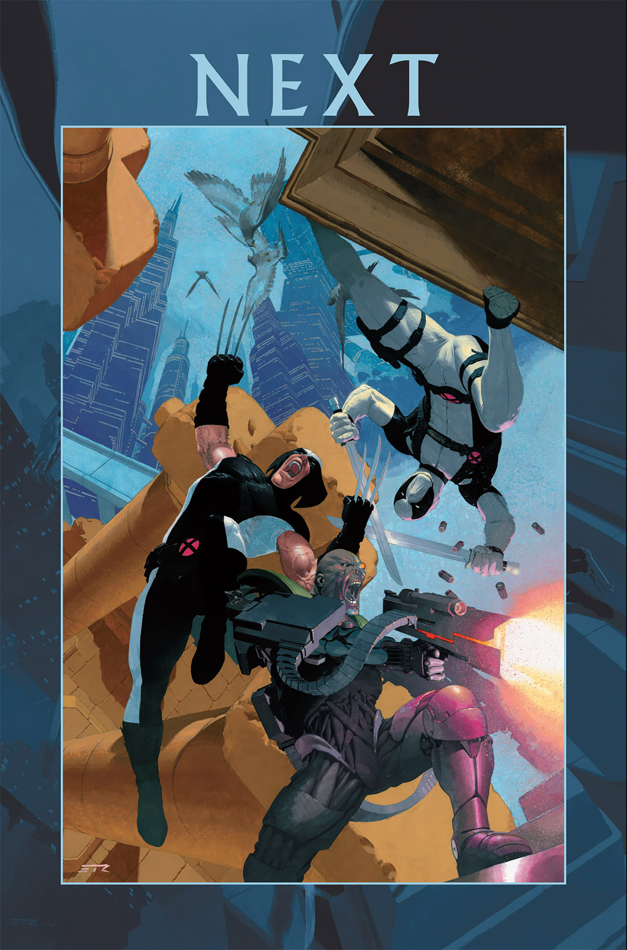 Read online Uncanny X-Force (2010) comic -  Issue #6 - 25
