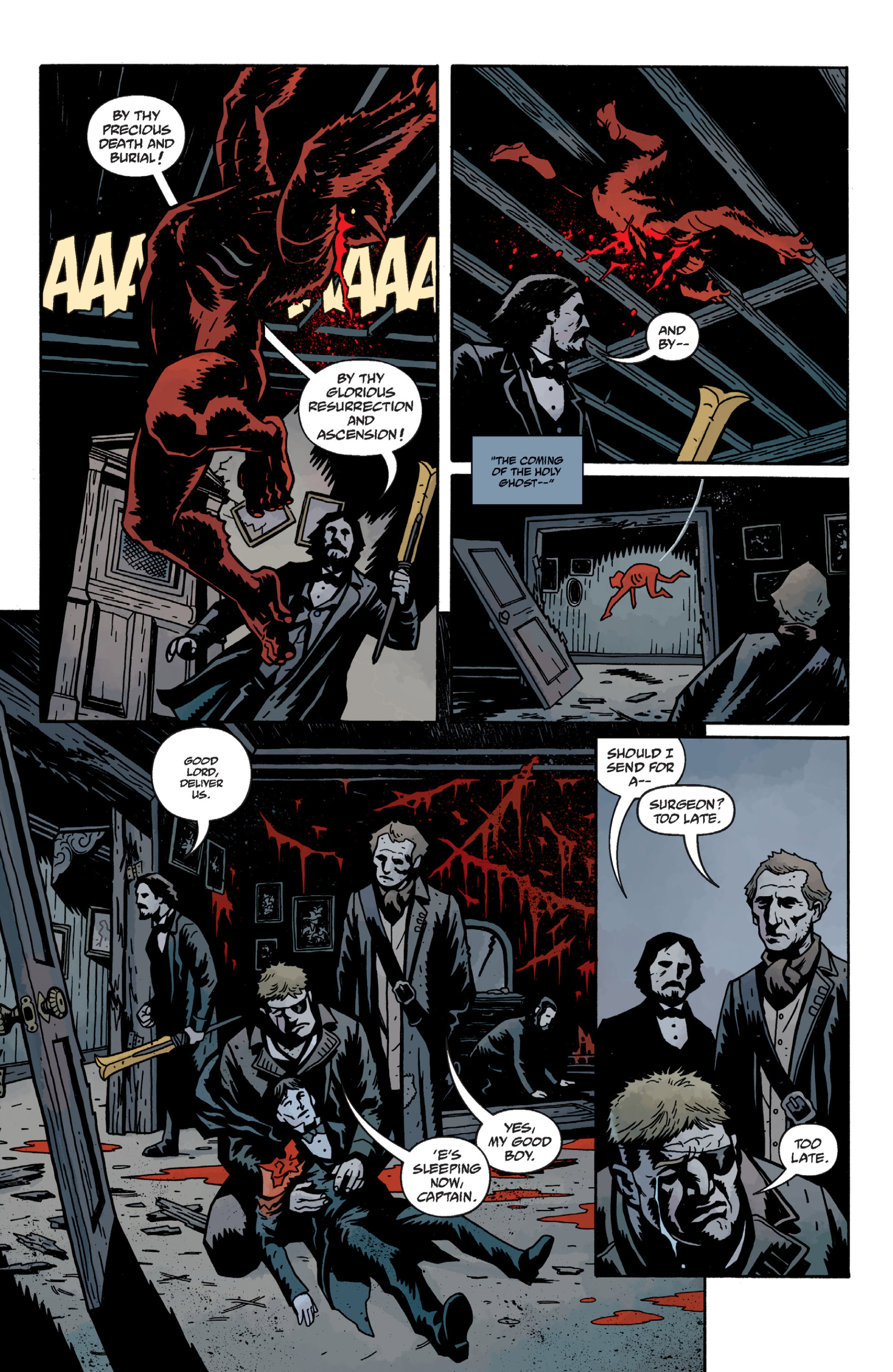 Read online Sir Edward Grey, Witchfinder: In the Service of Angels comic -  Issue # TPB - 60