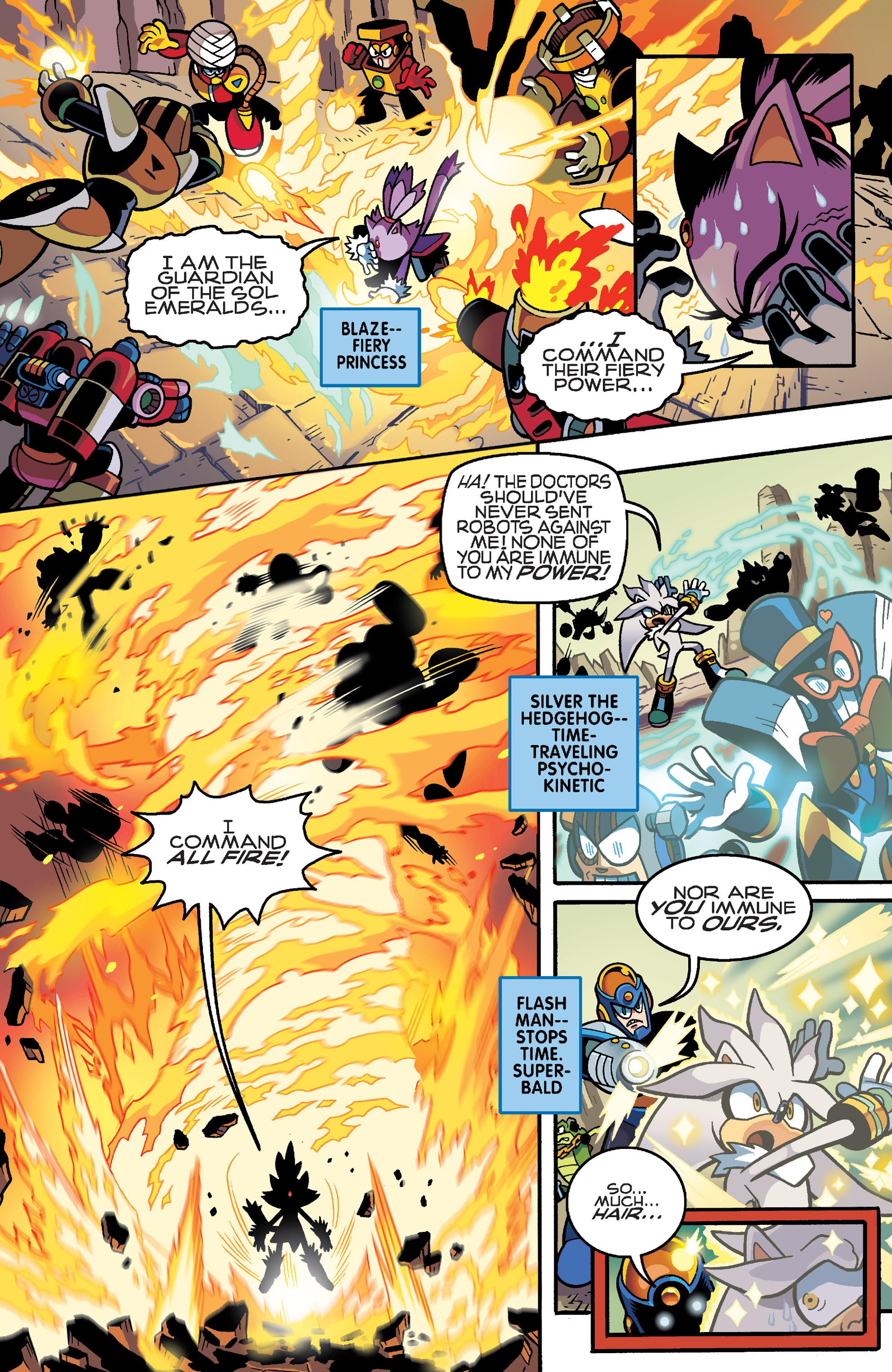Read online Sonic Mega Man Worlds Collide comic -  Issue # Vol 3 - 19