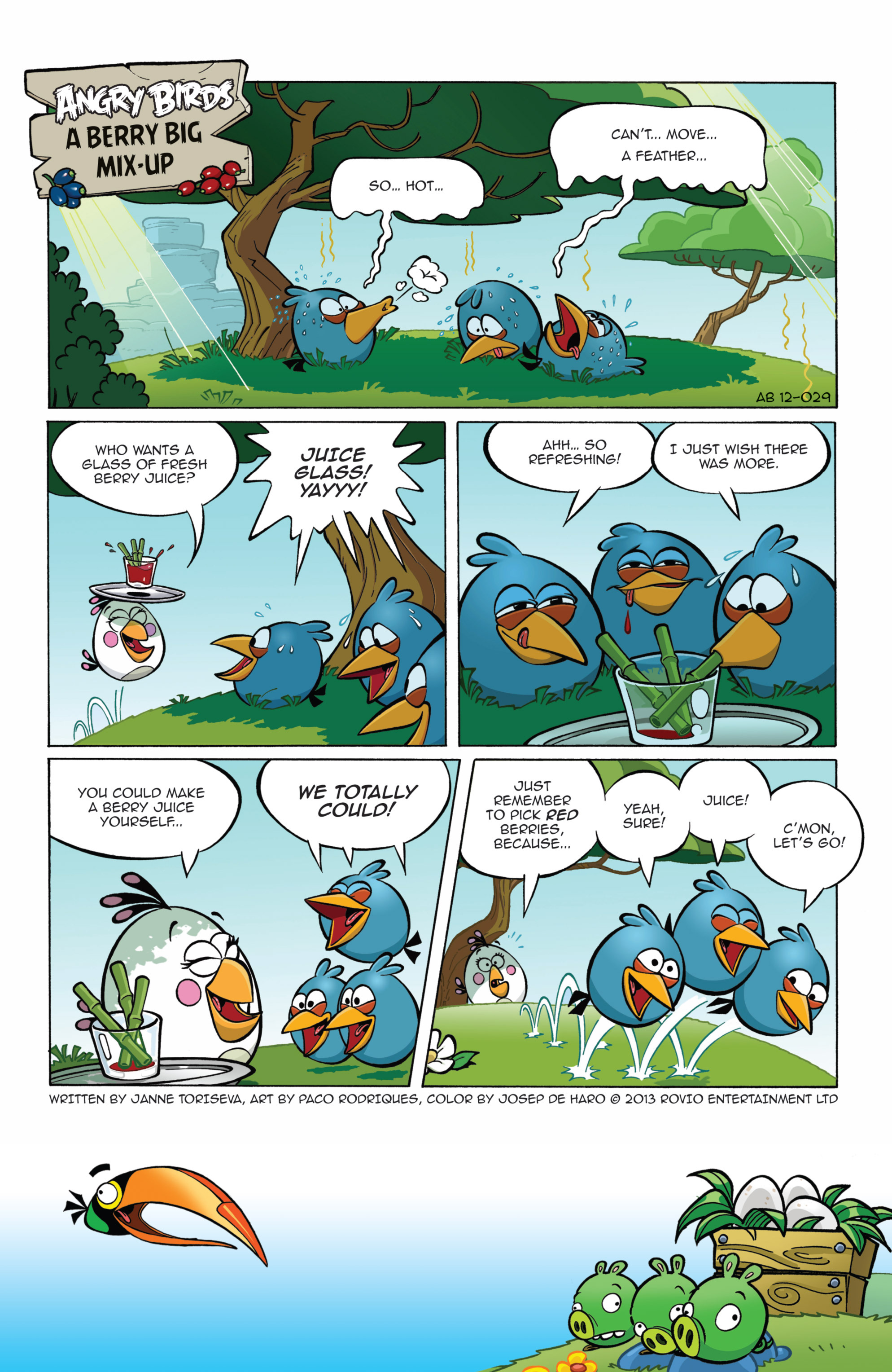 Read online Angry Birds Comics (2014) comic -  Issue #7 - 15