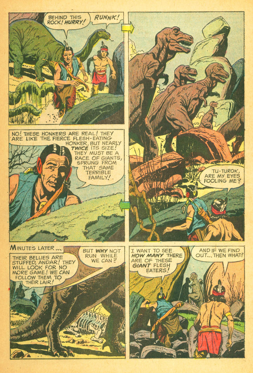 Read online Turok, Son of Stone comic -  Issue #27 - 26