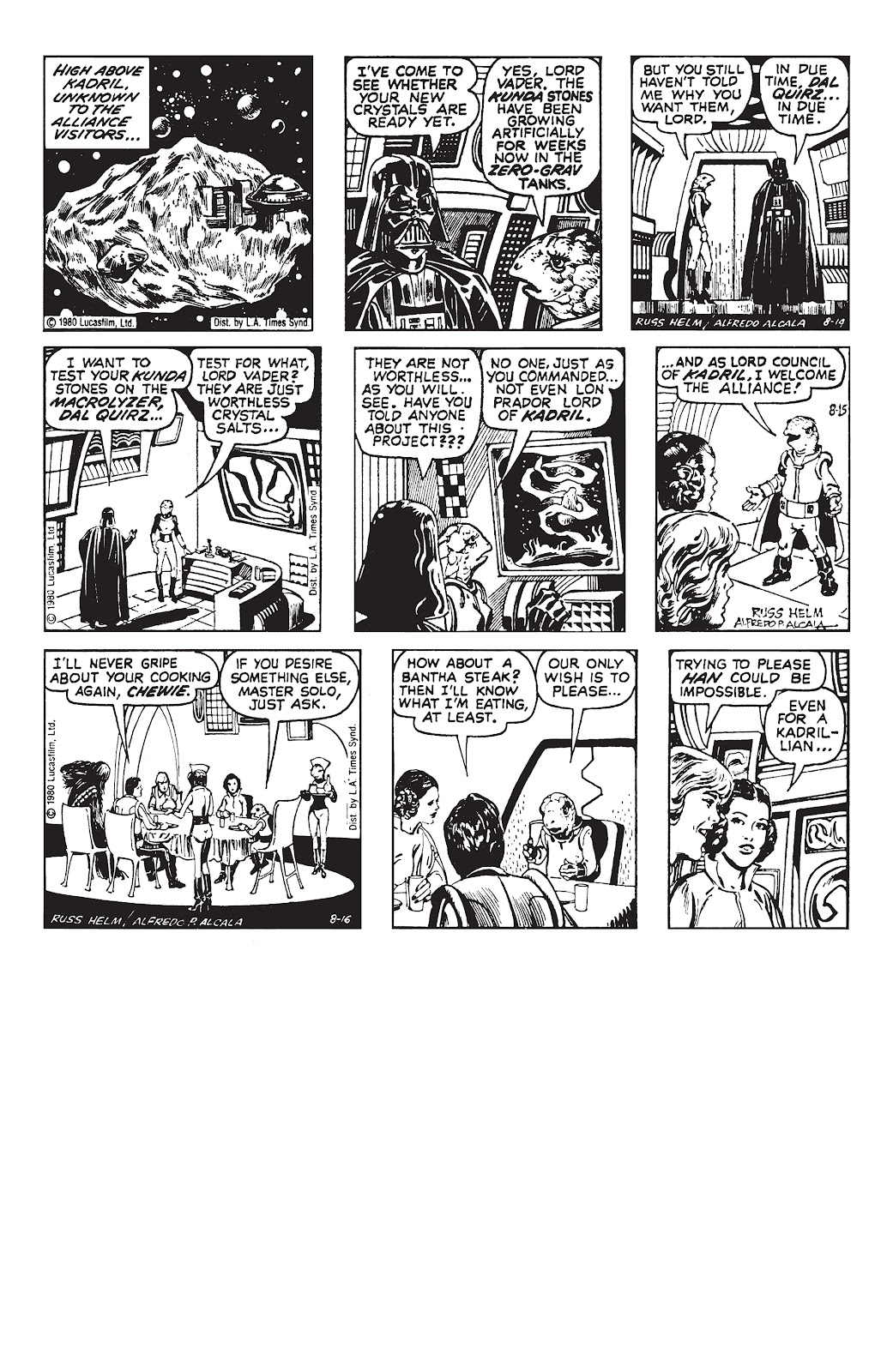 Read online Star Wars Legends: The Newspaper Strips - Epic Collection comic -  Issue # TPB (Part 3) - 82