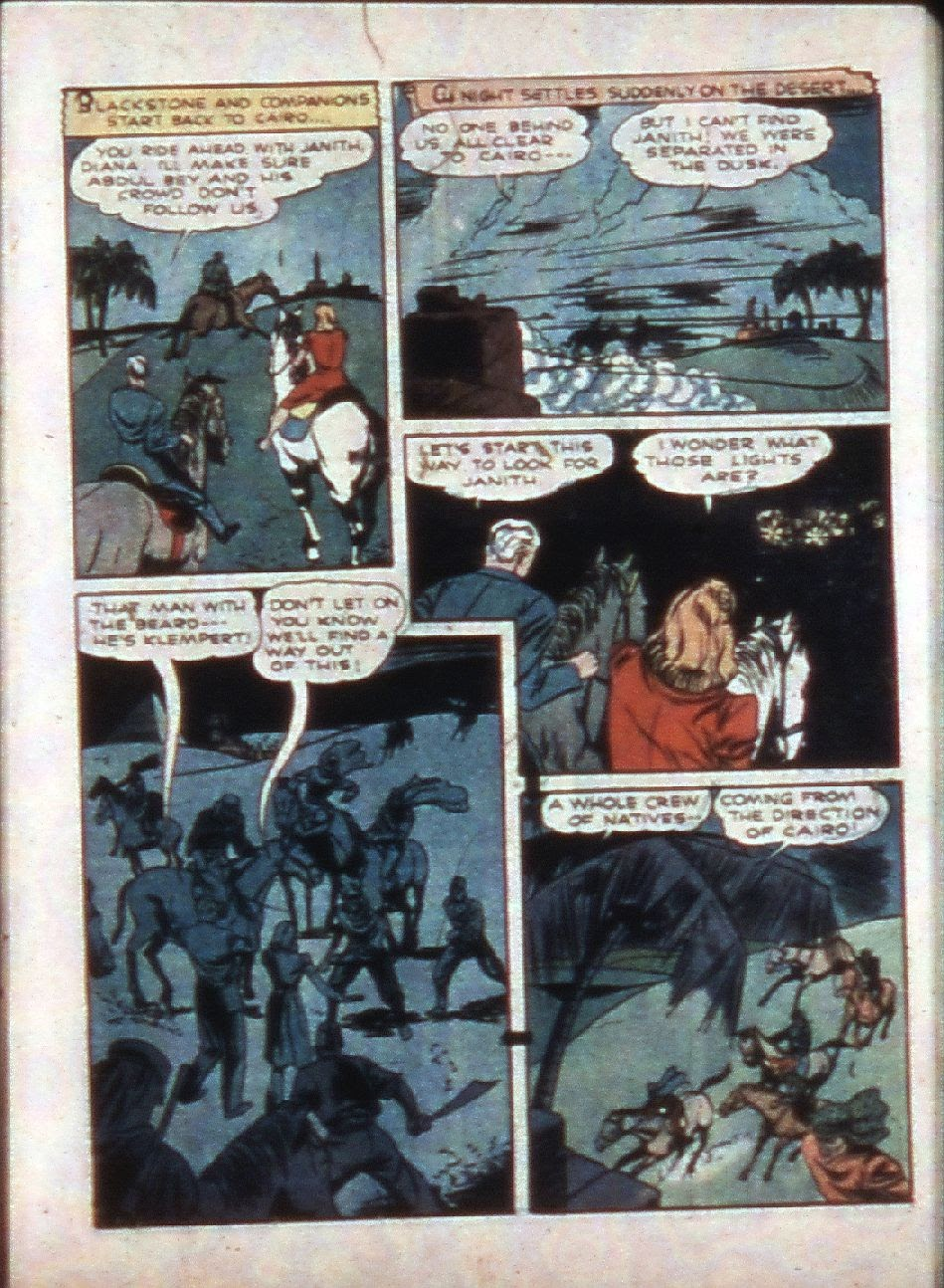 Read online Super-Magician Comics comic -  Issue #3 - 17